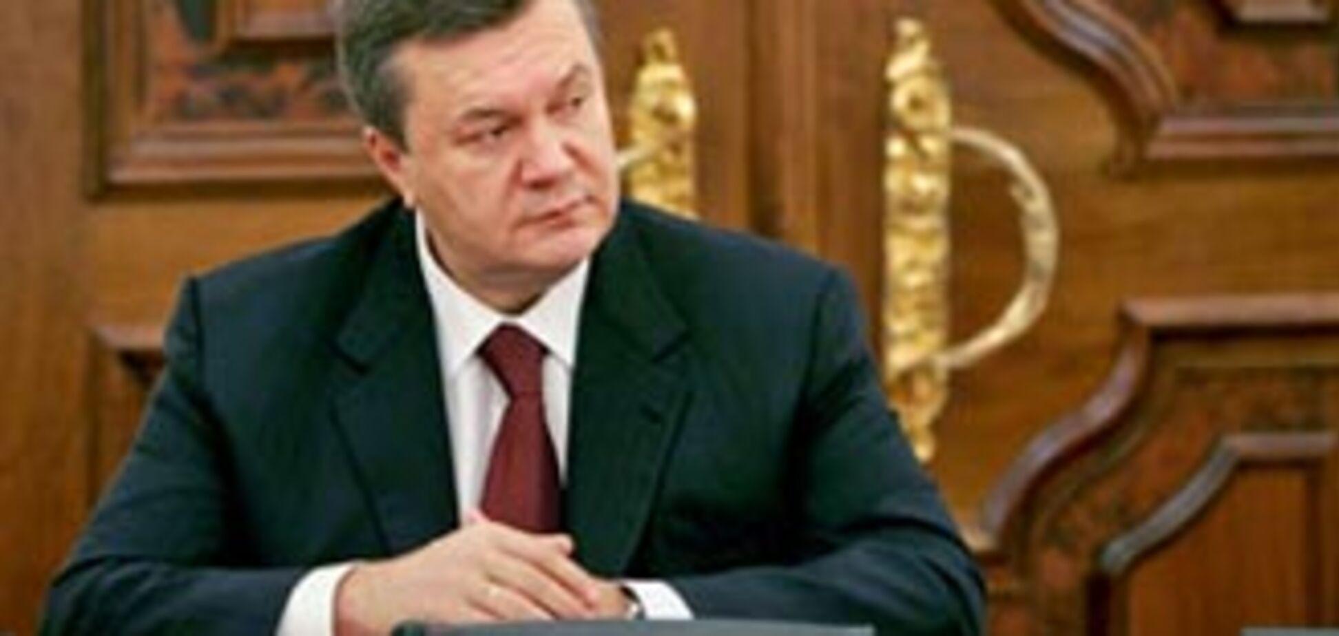 Янукович зажадав не допустити 'російських пожеж'