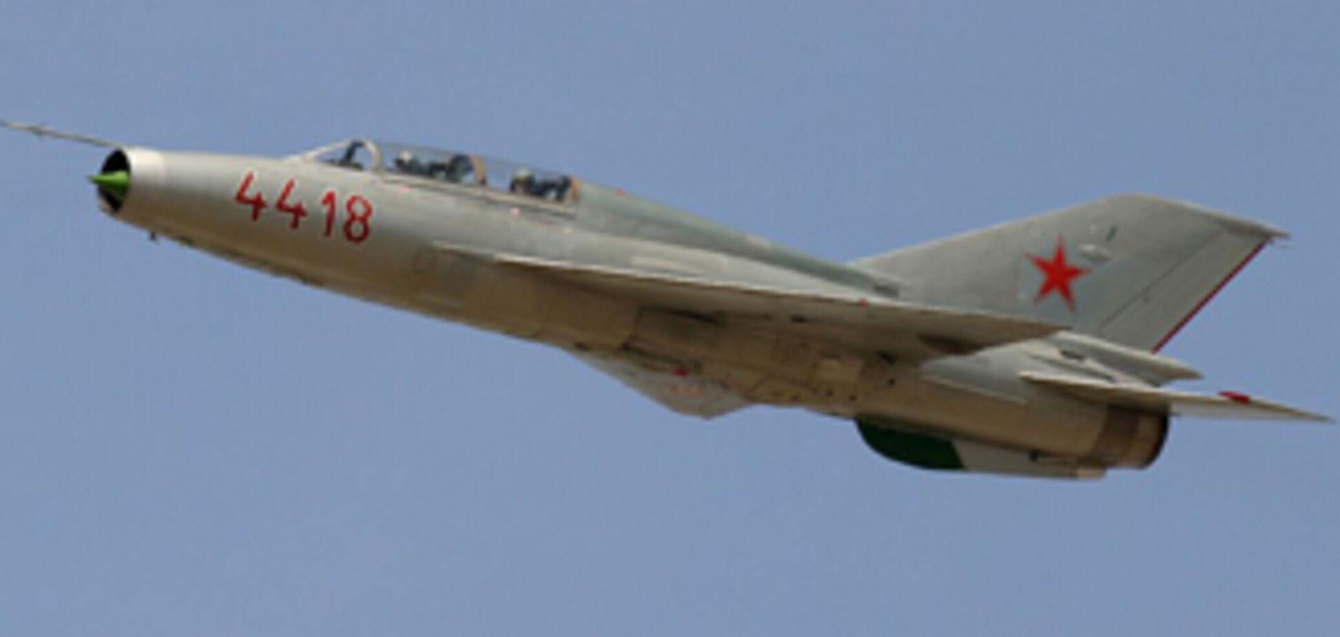В Индии разбился истребитель МиГ-21