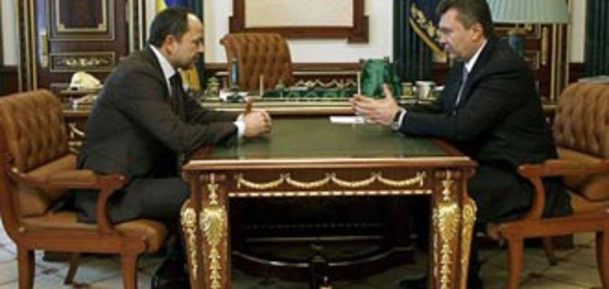 Янукович потребовал от Тигипко активной позиции