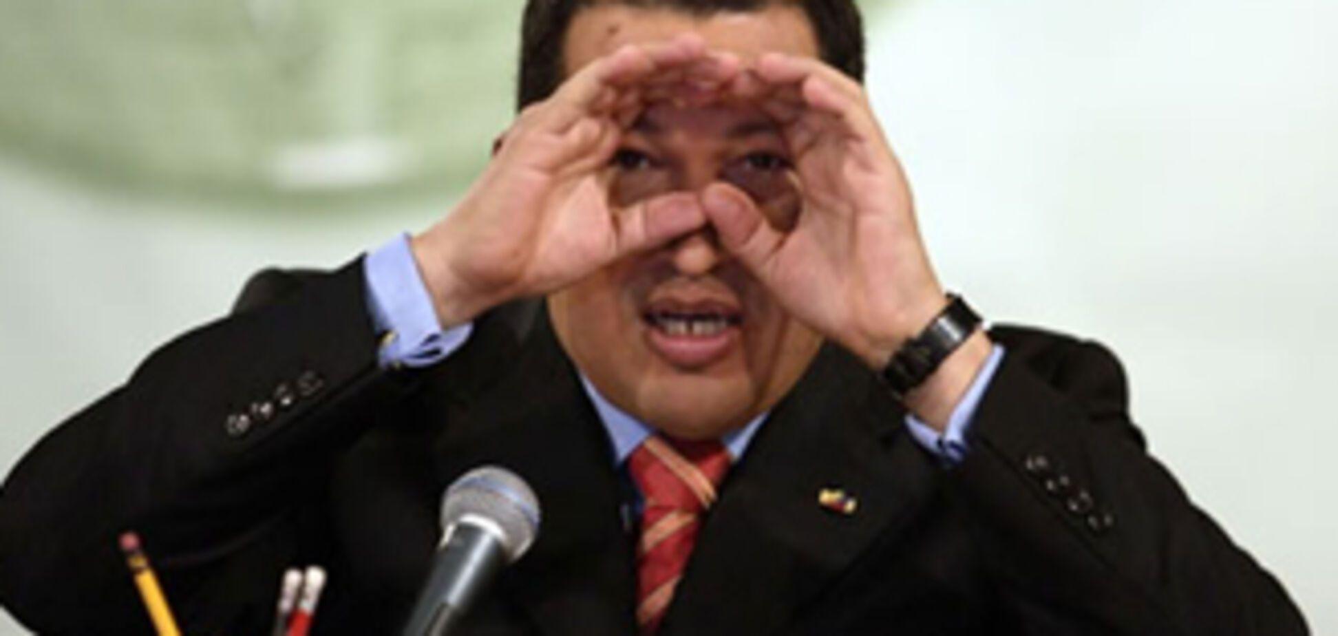 Чавес не прийняв посланника Обами
