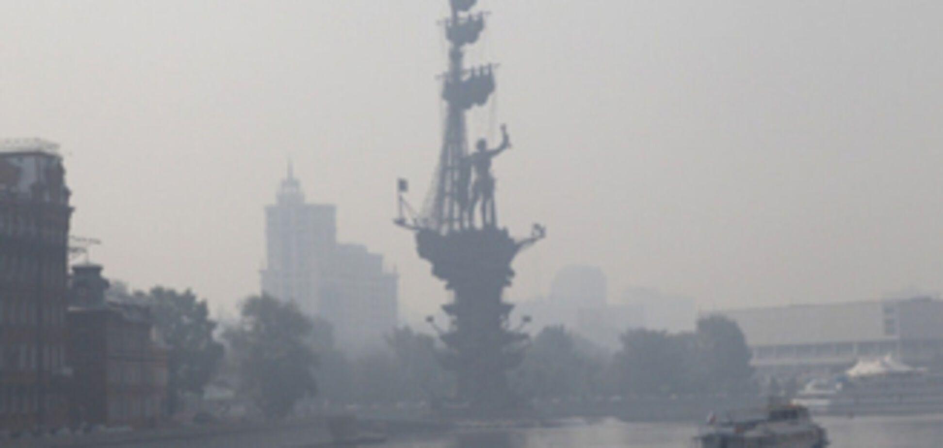 Перепочинок закінчена - дим знову охопив Москву