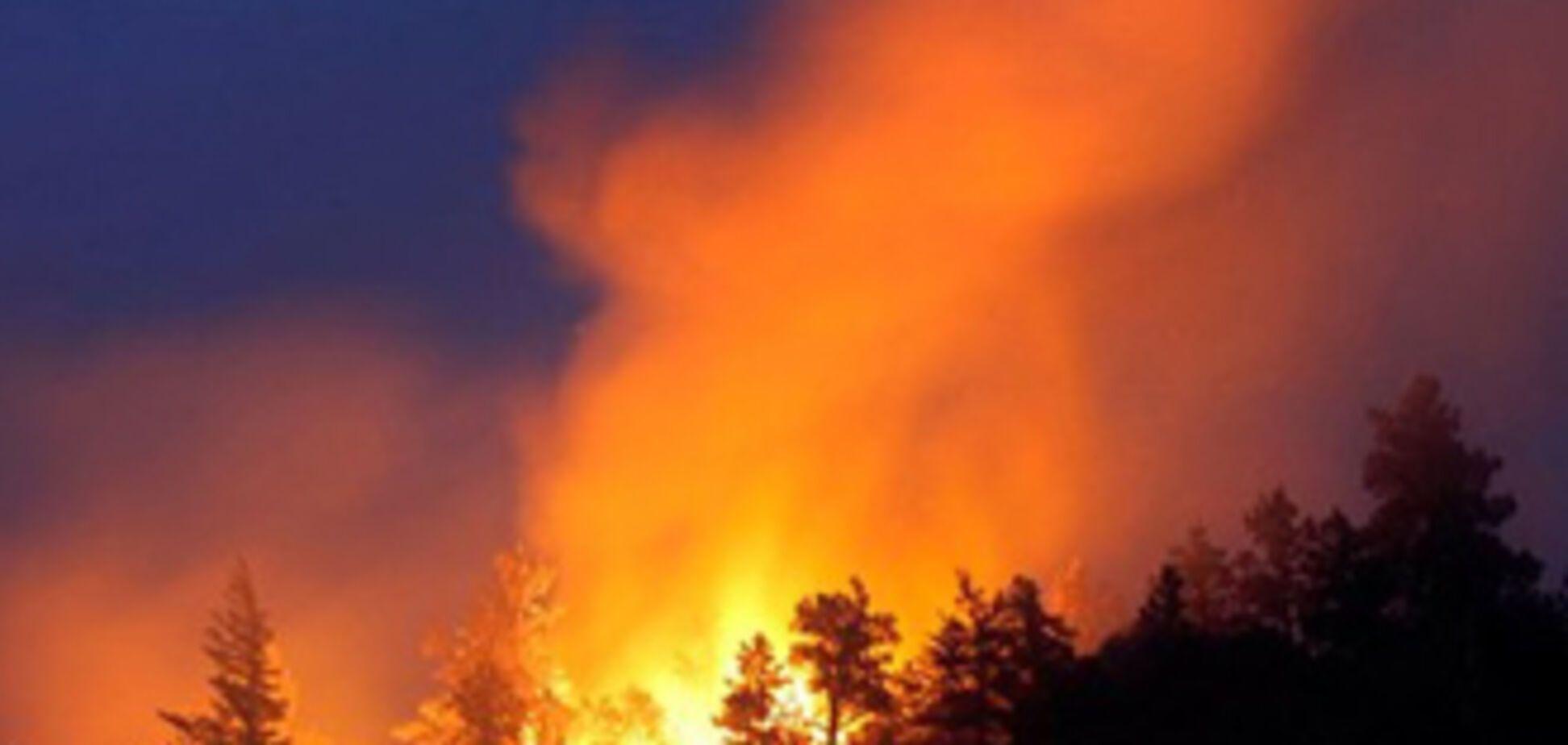 Росія: пожежа йде в бік ядерних центрів