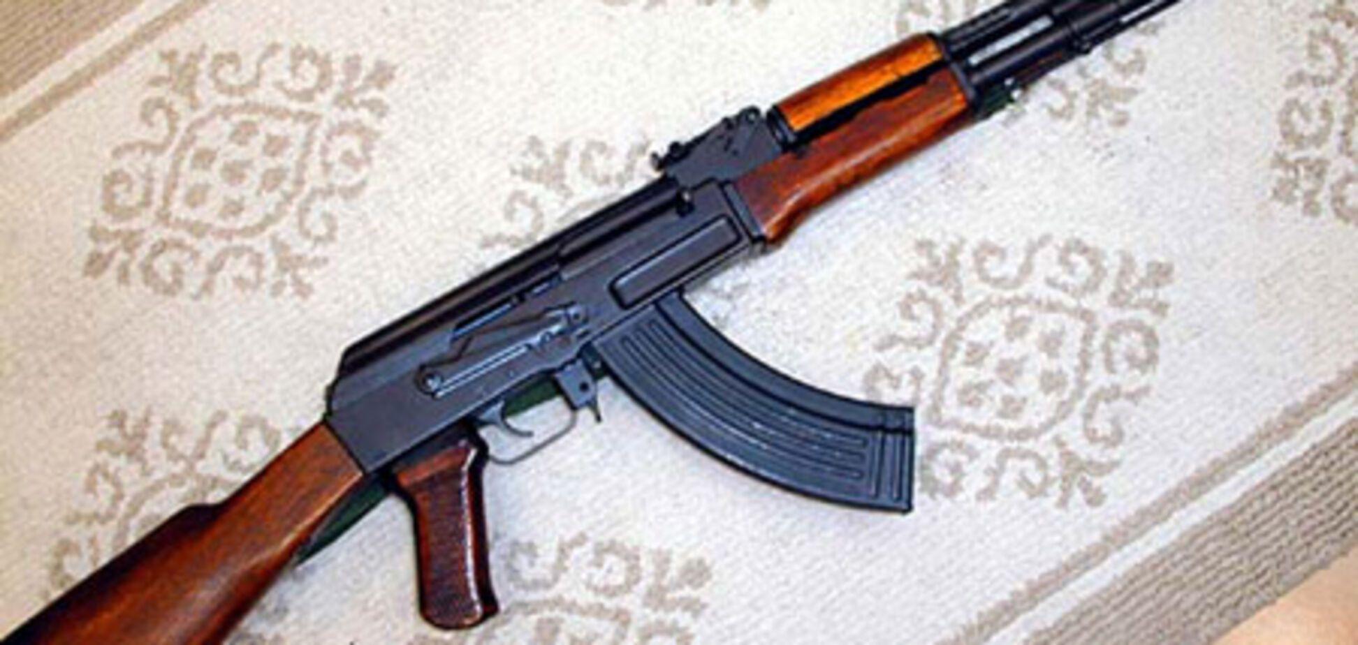 Милиция обнаружила у членов ВО «Тризуб» арсенал оружия