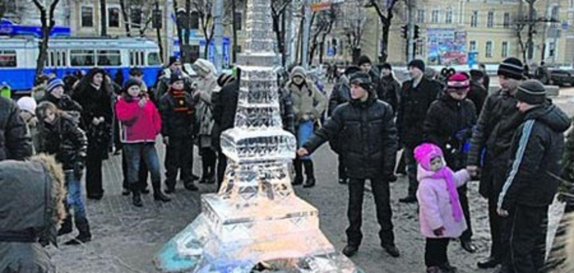 П'яні вінницькі студенти зруйнували Ейфелеву вежу
