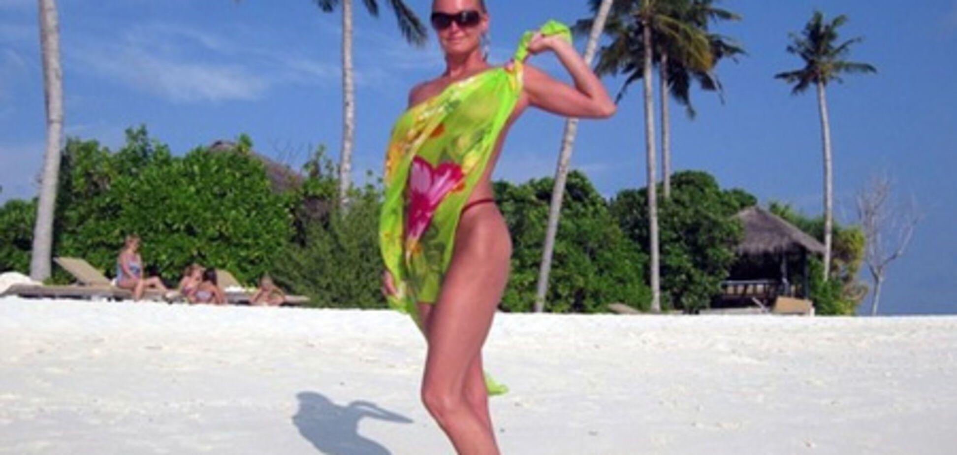 Волочкова показала свою попу на Мальдівах. ФОТО
