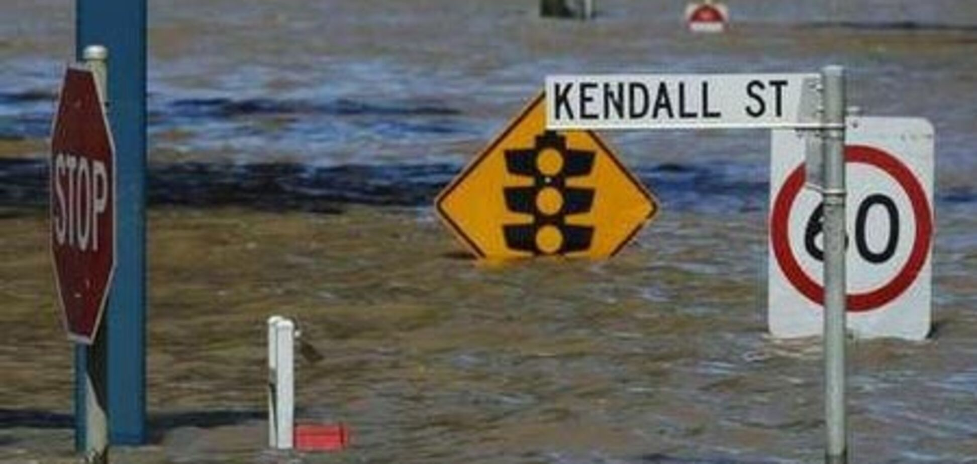 'Сухопутне цунамі' в Австралії: затоплені тисячі будинків