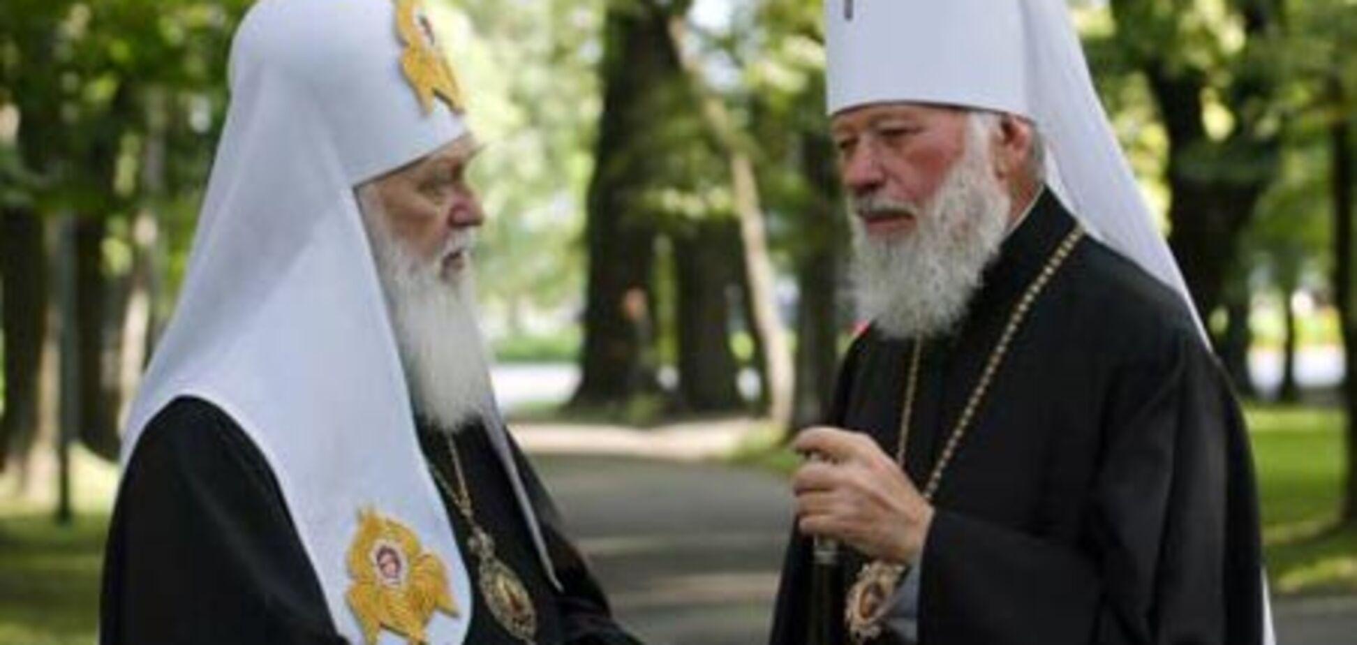 Українські церкви воюють за прихожан