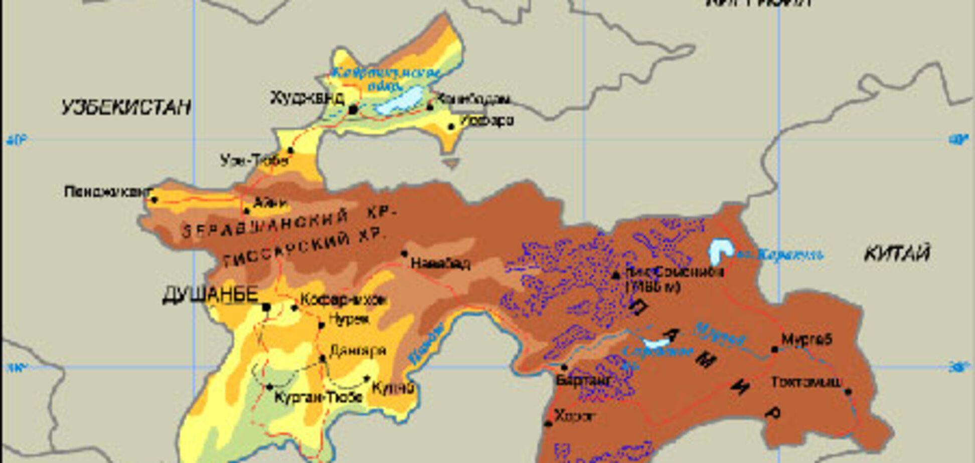 Таджикистан віддав Китаю частину своєї території