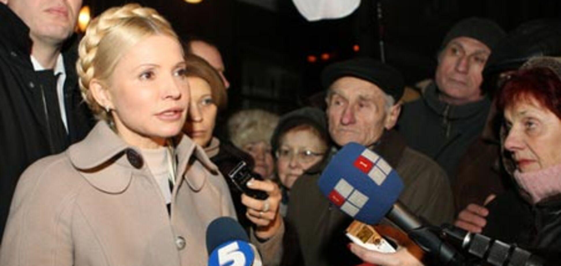 У ГПУ думають, що Тимошенко готує черговий самопіар