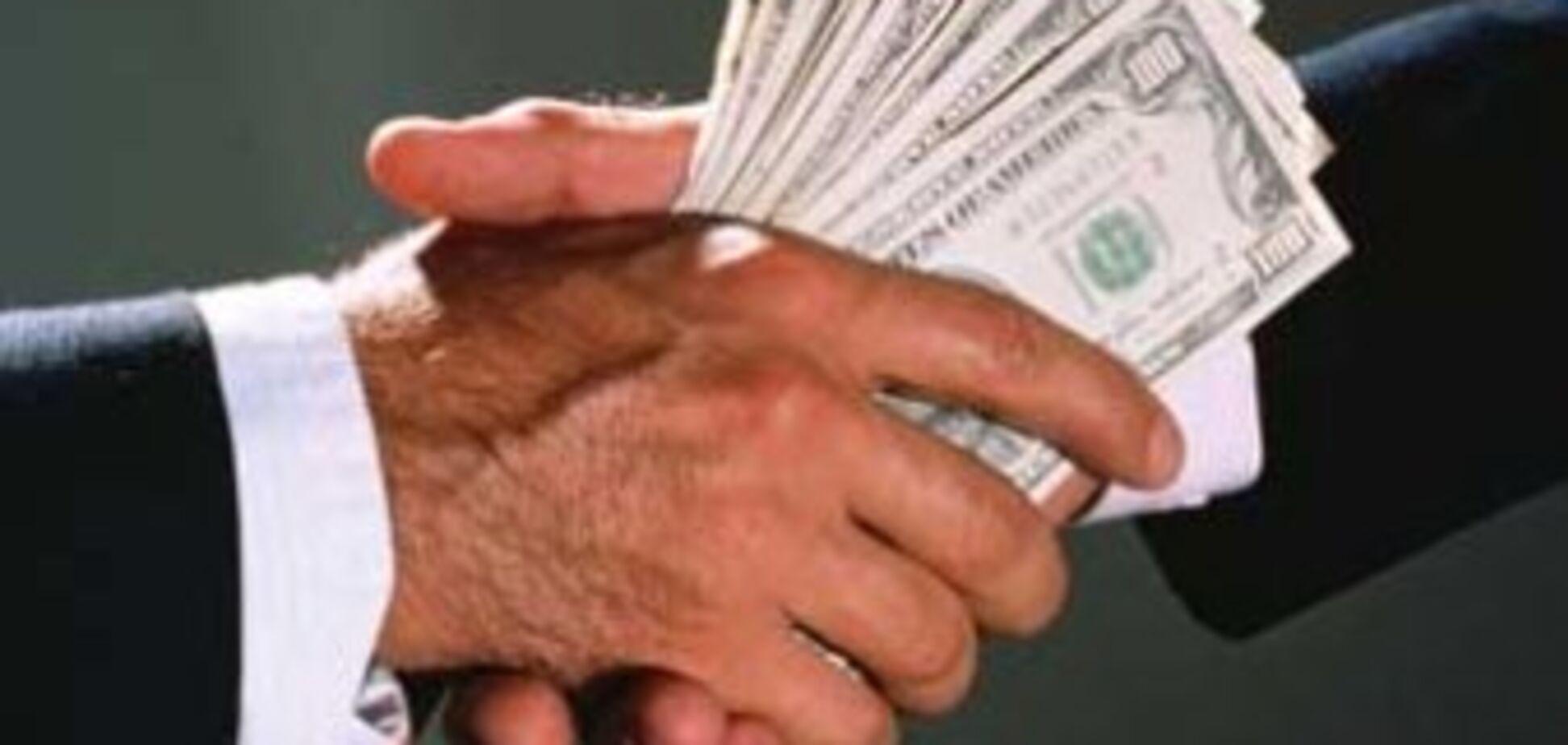 Президент визначив, скільки чиновникам платити за хабарі