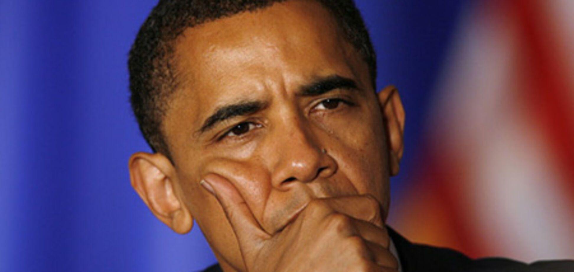 Барак Обама стрімко втрачає вагу