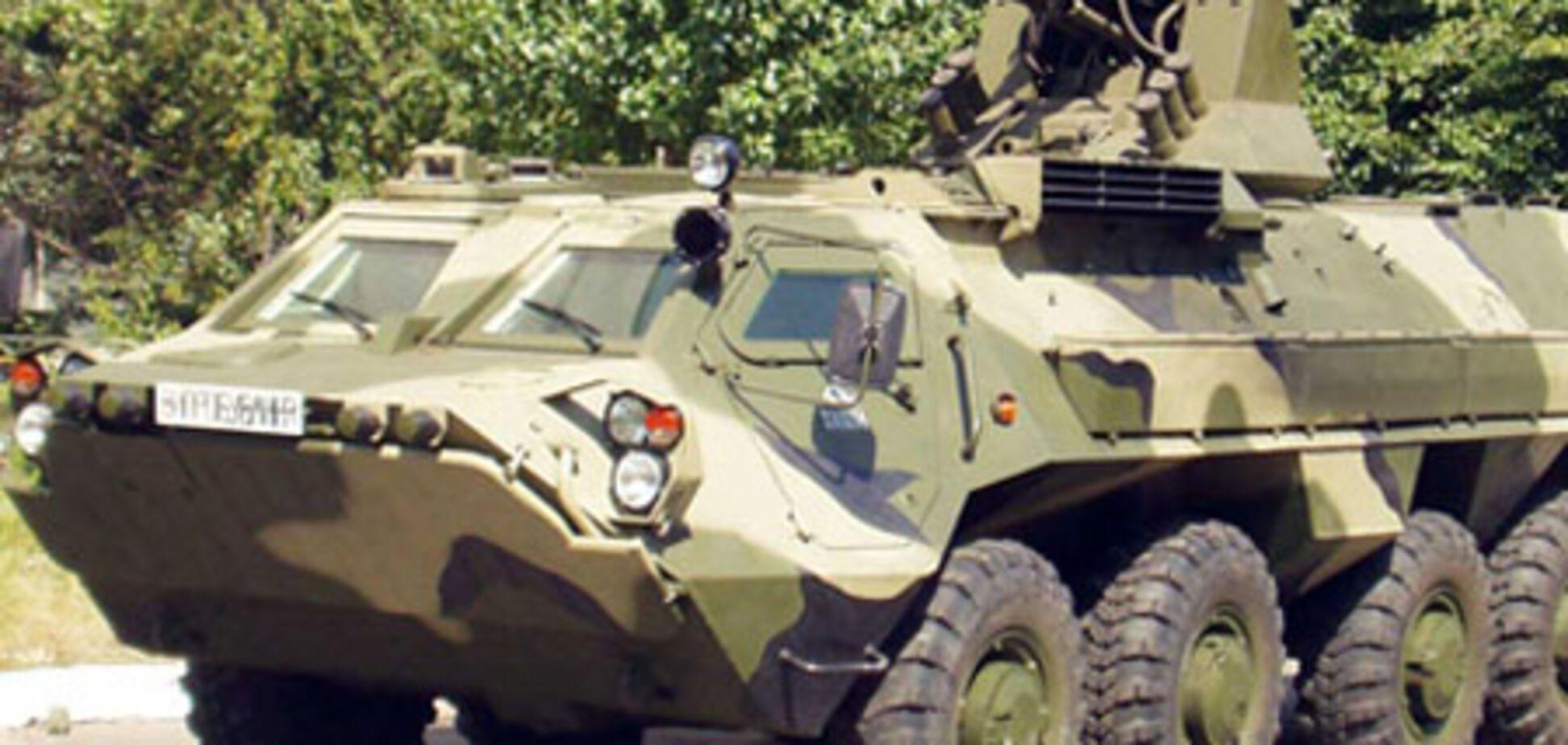 Навесні українська бронетехніка піде по землі Іраку