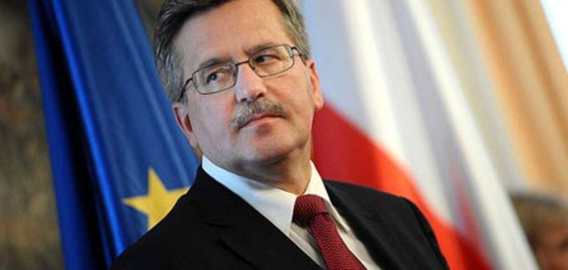 Президент Польщі: розслідування РФ проведено з помилками
