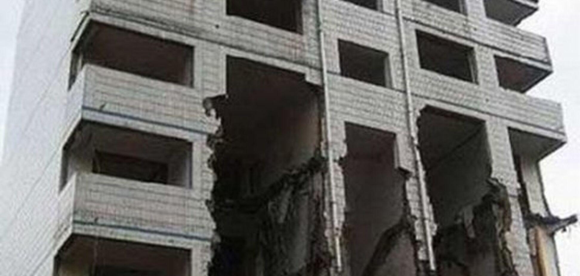 Как выселяют жильцов в Китае. ФОТО