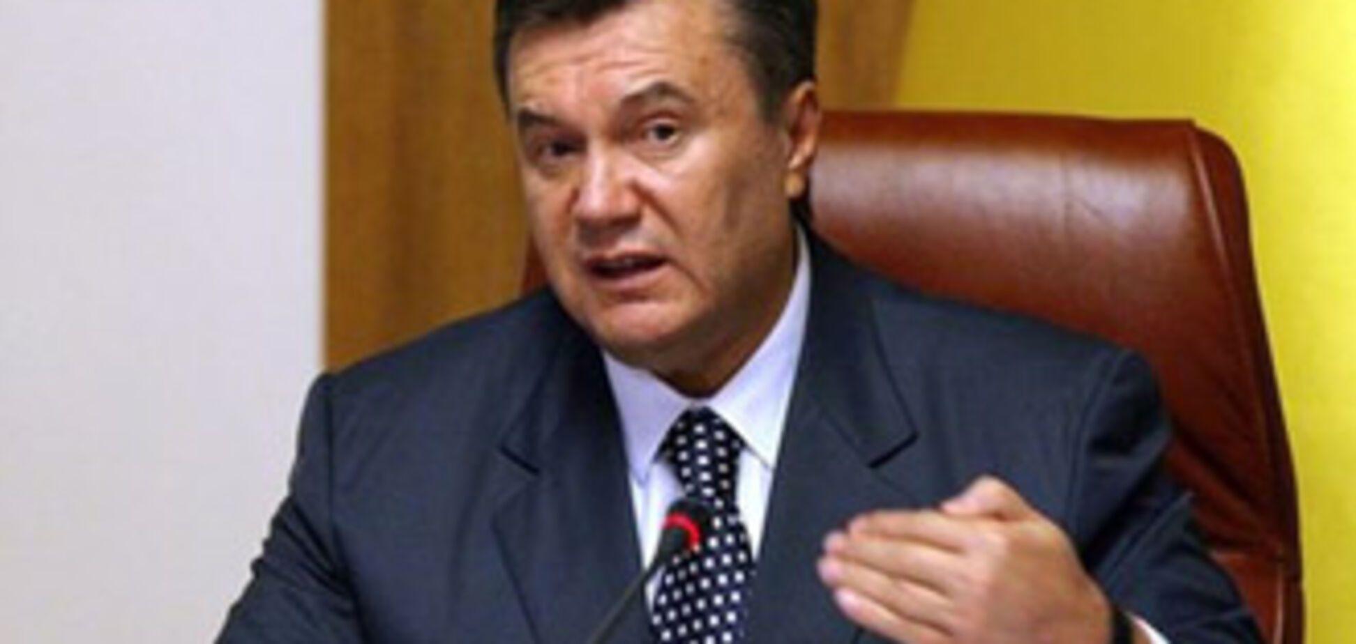 Янукович звільнив ще чотирьох заступників міністрів