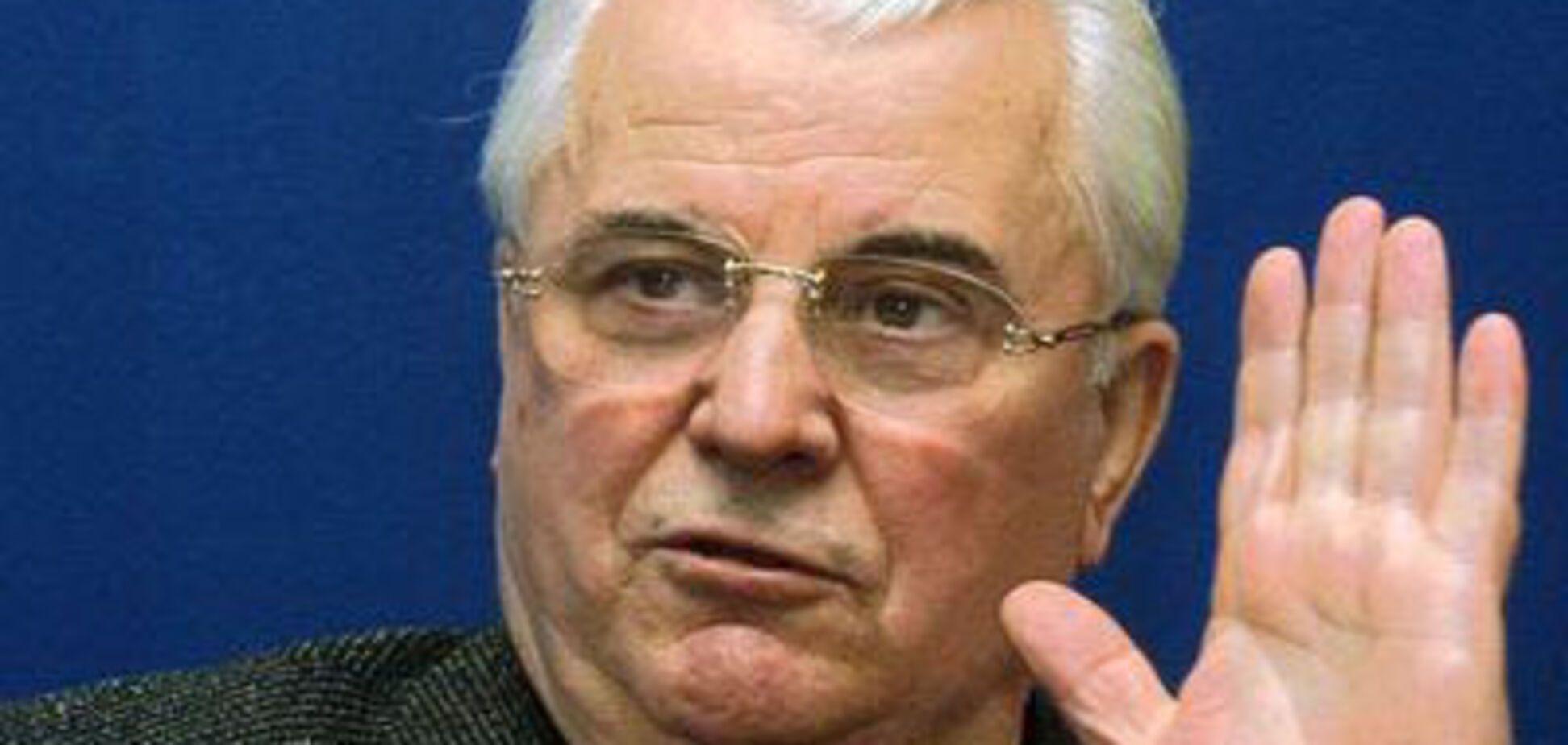 Кравчук вважає, що в українському парламенті сидить непотріб