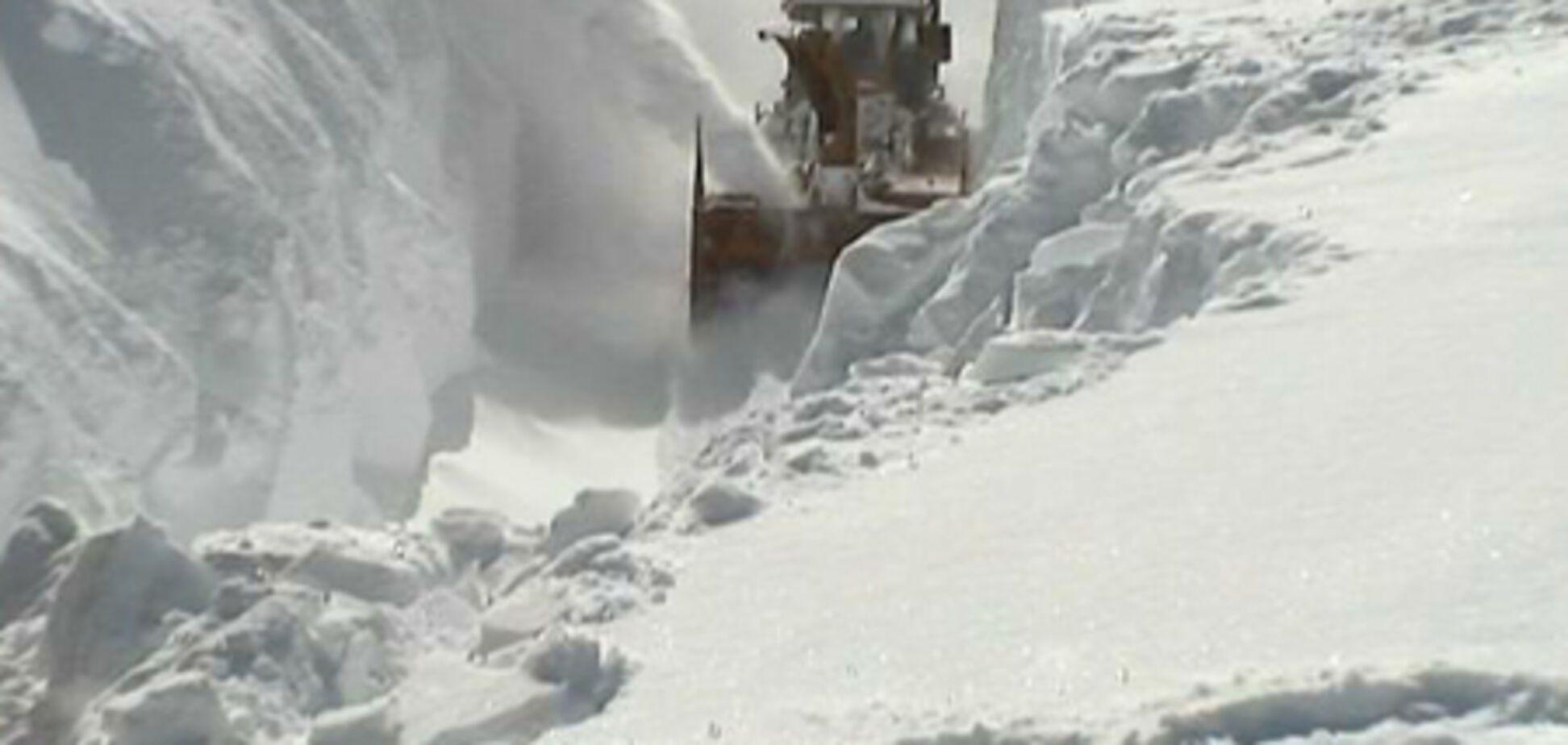 Японію завалило снігом