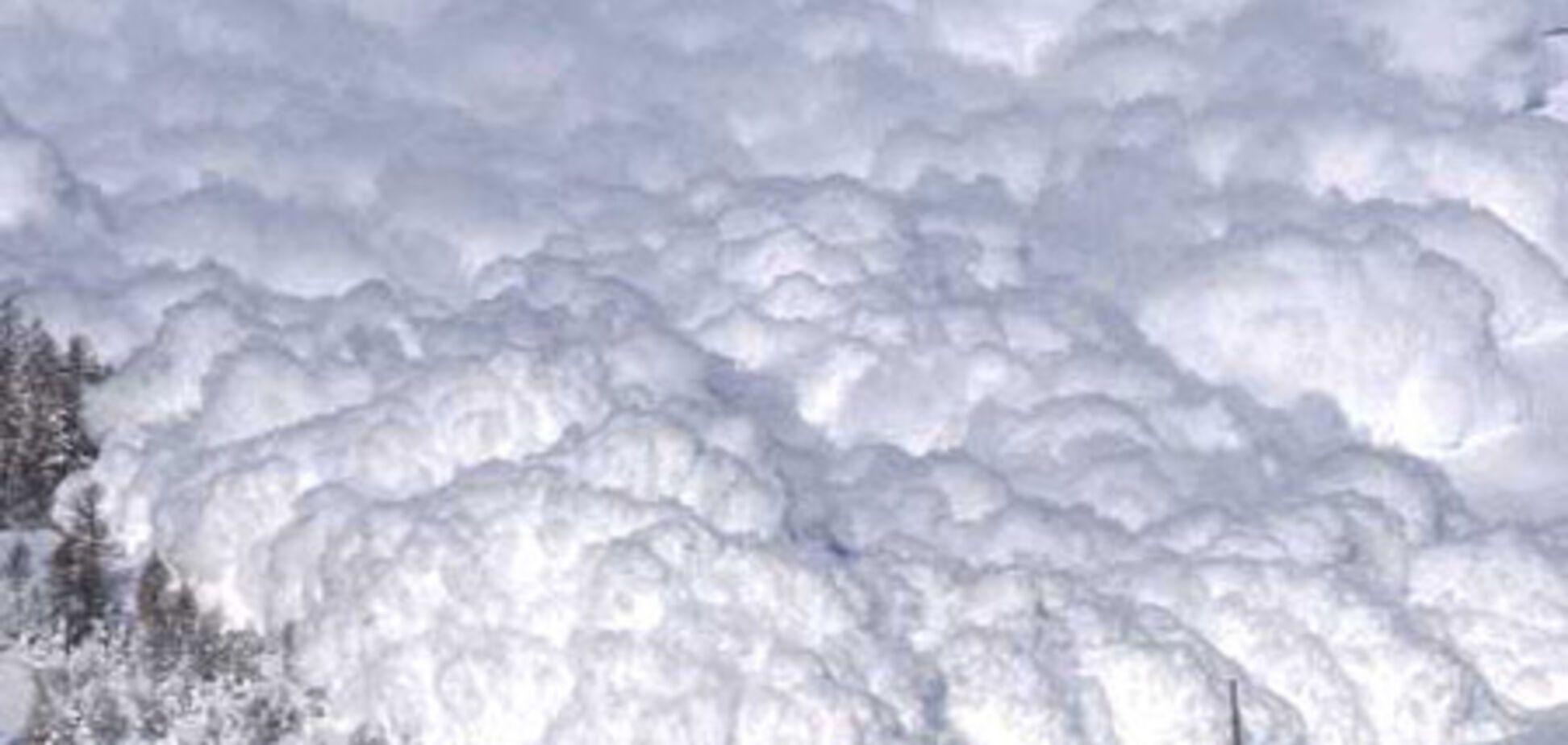 Карпати загрожують сніговими лавинами
