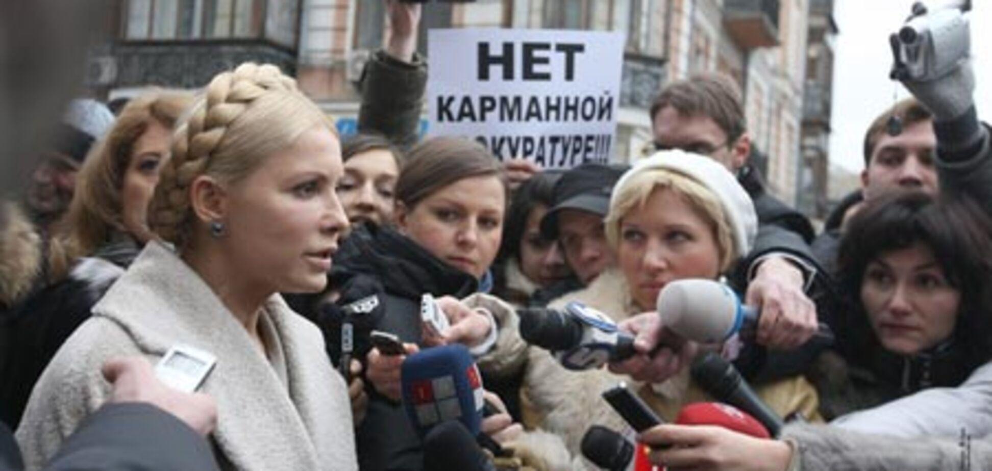 Тимошенко не збирається тікати з України