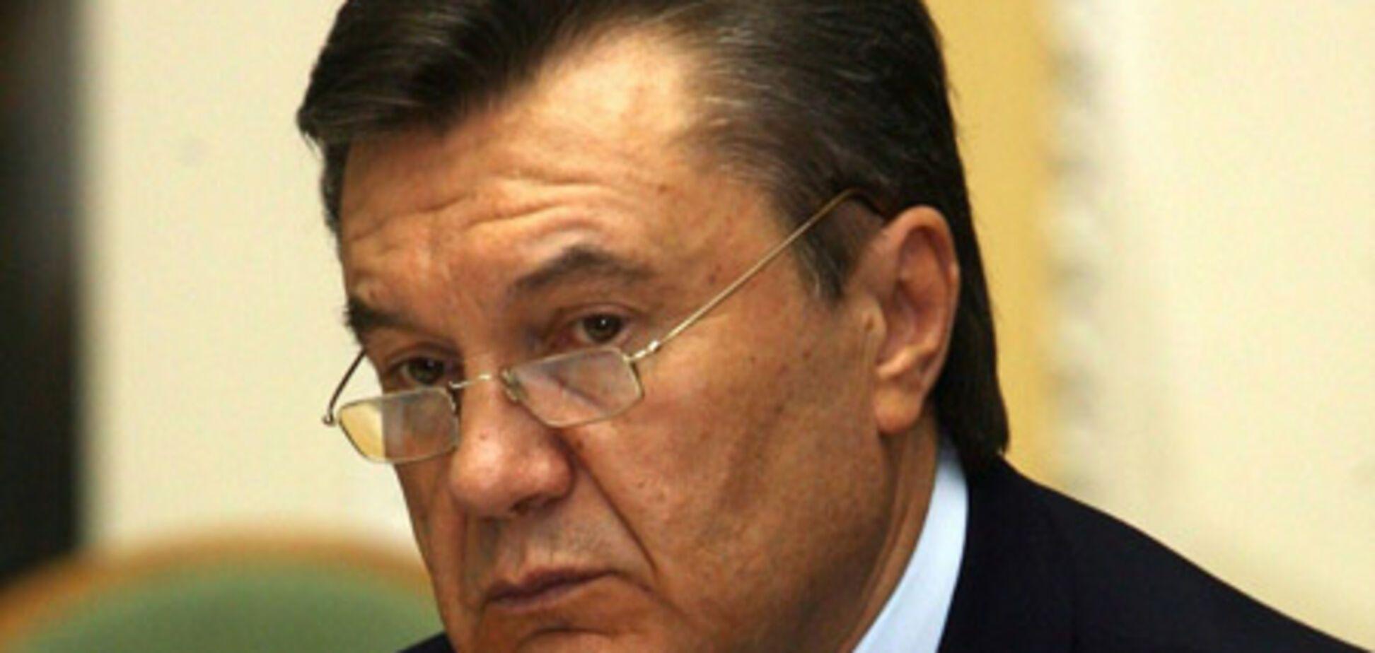 Янукович звільнив 31 урядовця