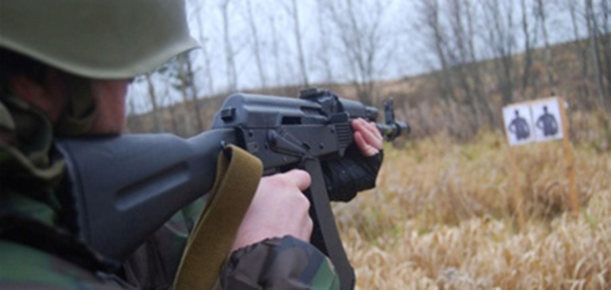 Военные признали, что на Киевщине  ранили гражданского