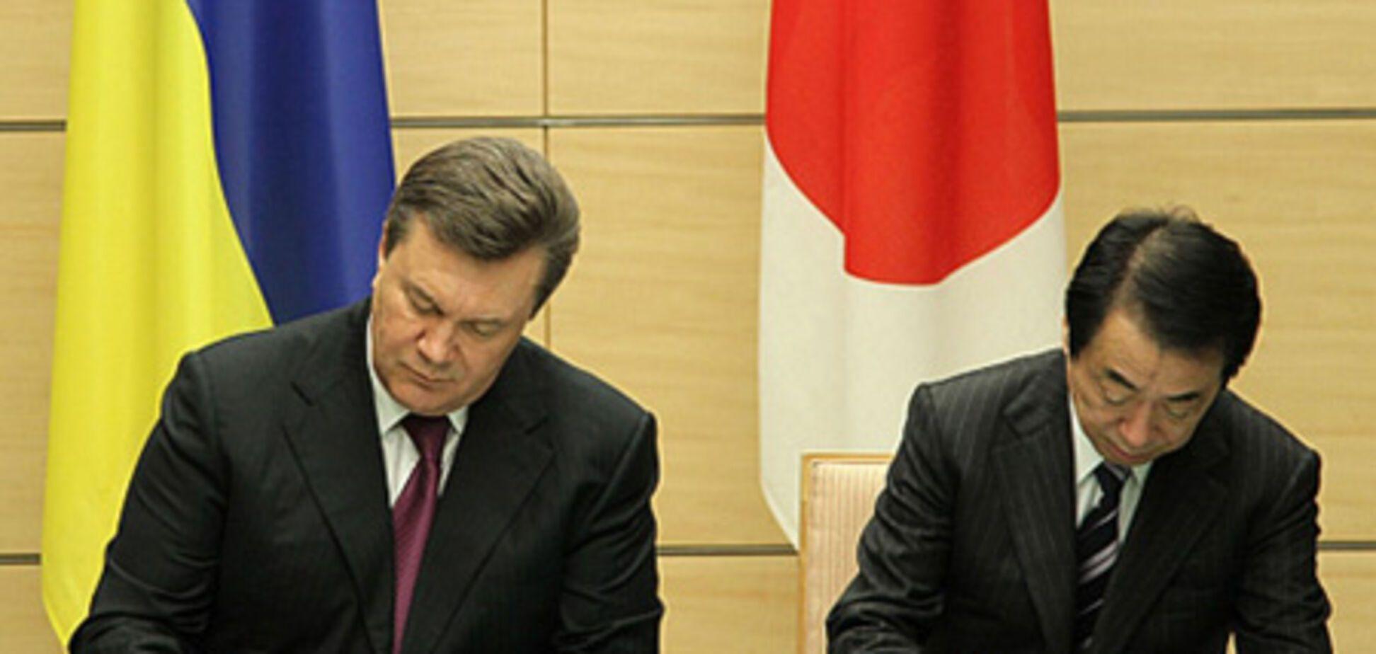 Янукович зустрівся з Імператором Японії 'а-тет'