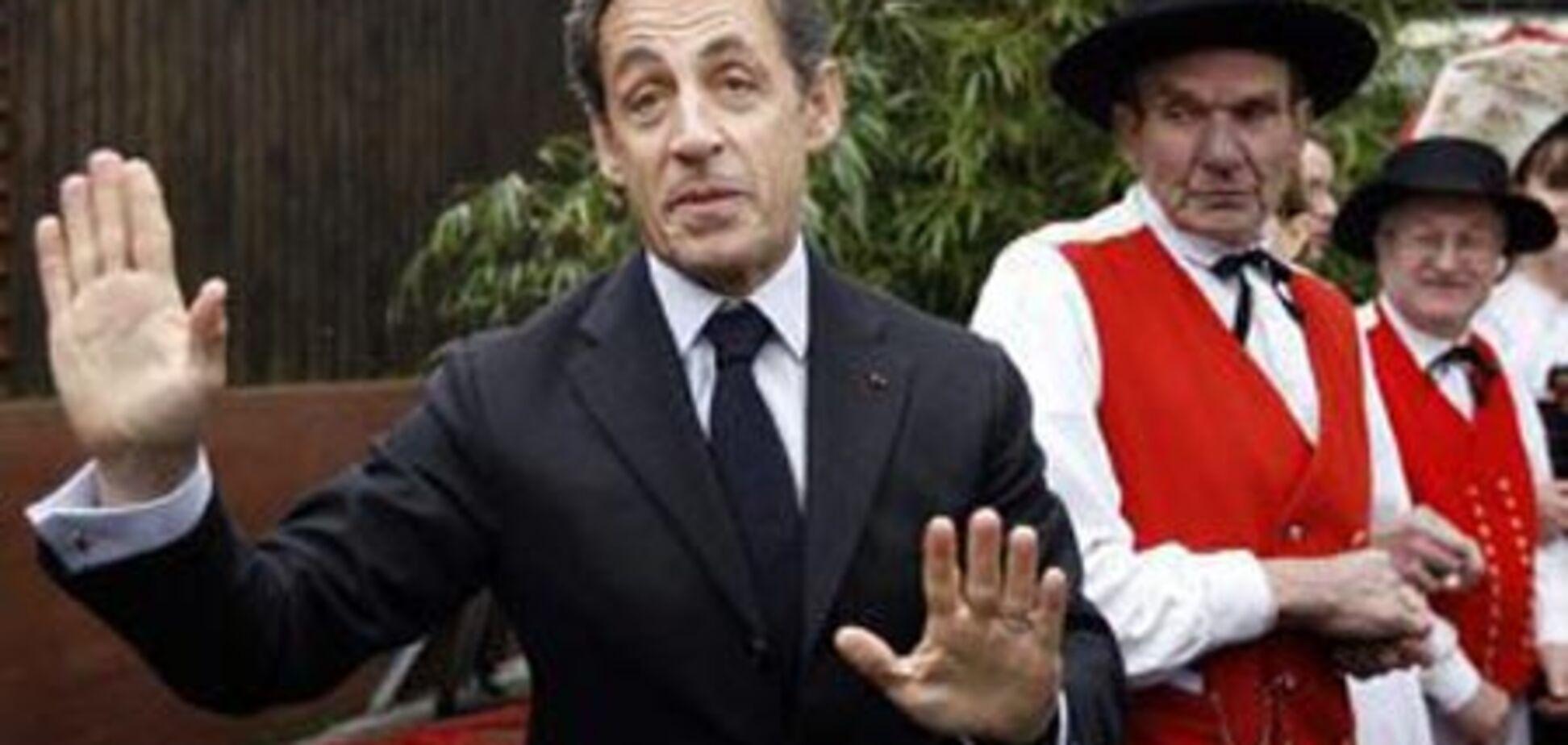 Ніколя Саркозі подарував Ельзас Німеччини