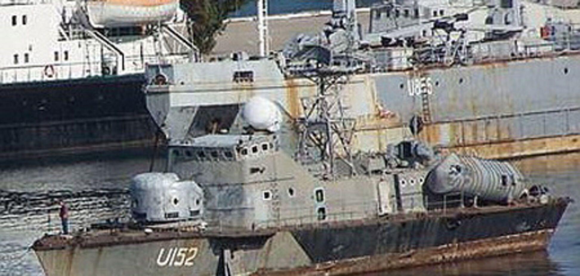 В Крыму затонул ракетный катер ВМС Украины