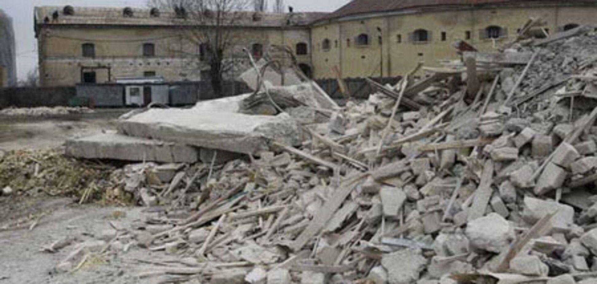 Как уничтожают Киев