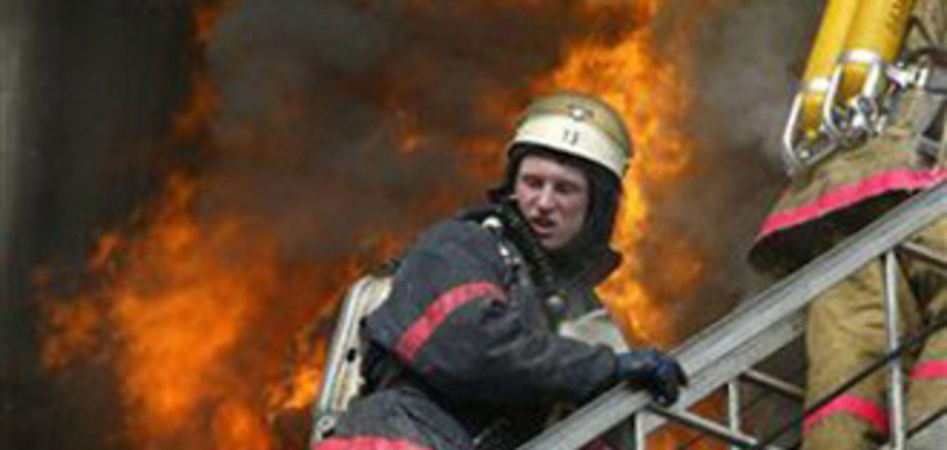 В Луганске в рождественскую ночь сгорел жилой дом