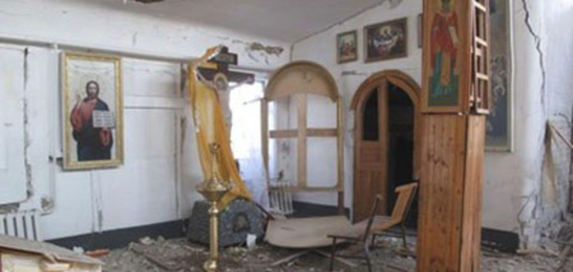 Запорожский епископ заступился за взорвавших церковь