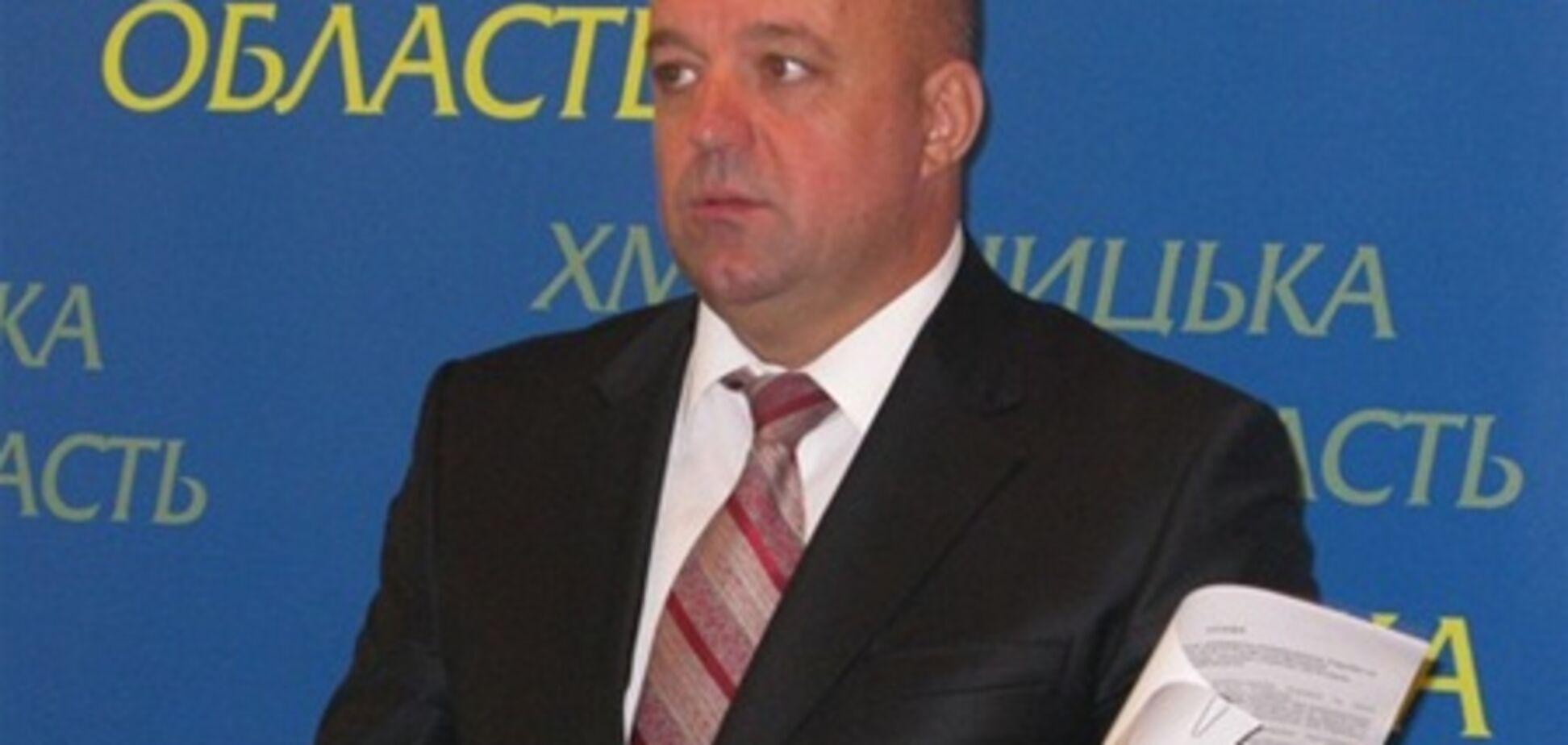Президент лично поручил прокуратуре заняться Хмельницким губернатором