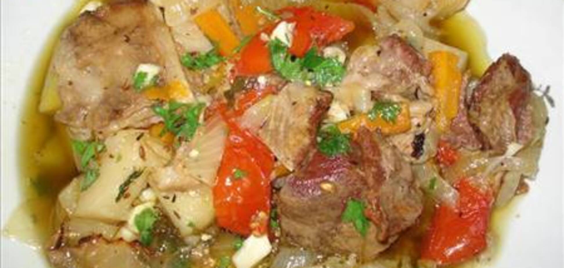 Чанахи - густой грузинский суп