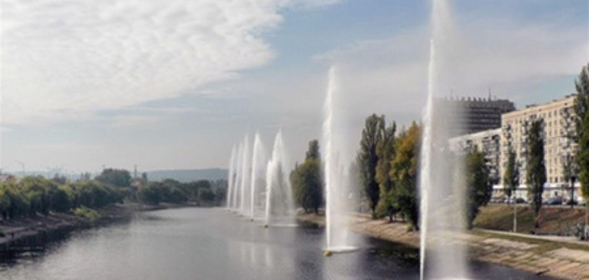 Киевские фонтаны приготовили к зиме