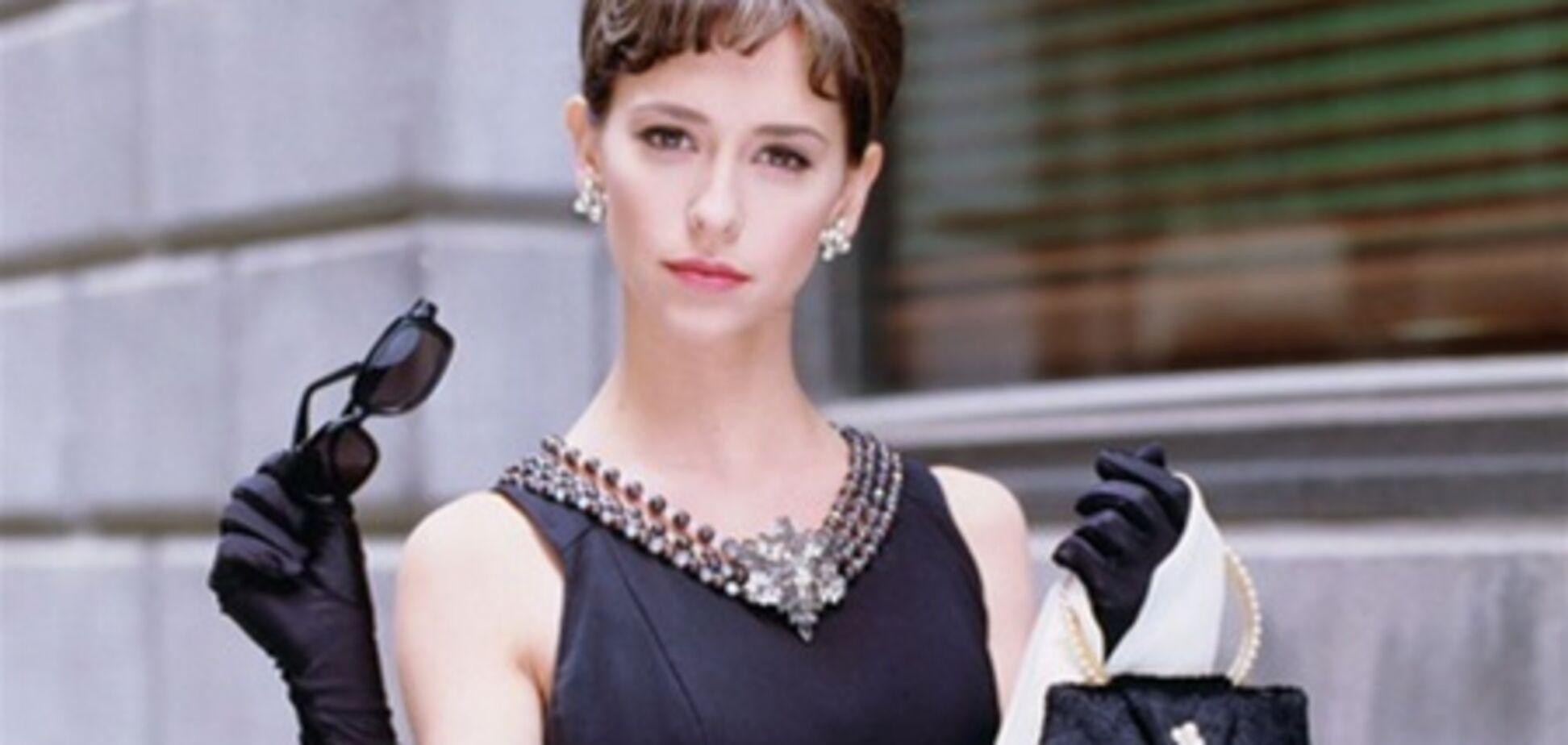 Дженнифер Лав Хьюитт в образе Одри Хепберн