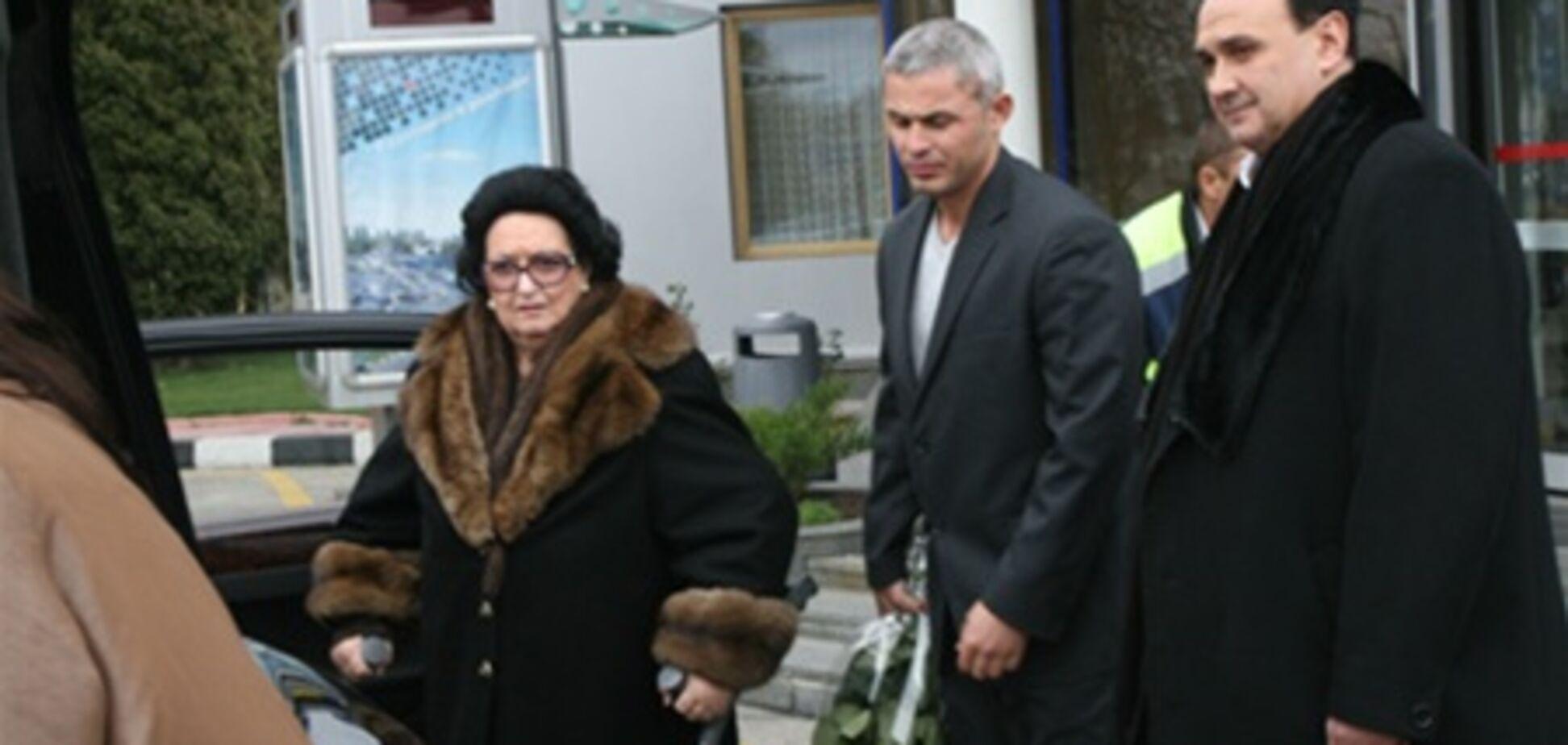 Кабалье приземлилась в Борисполе. Добавлено видео
