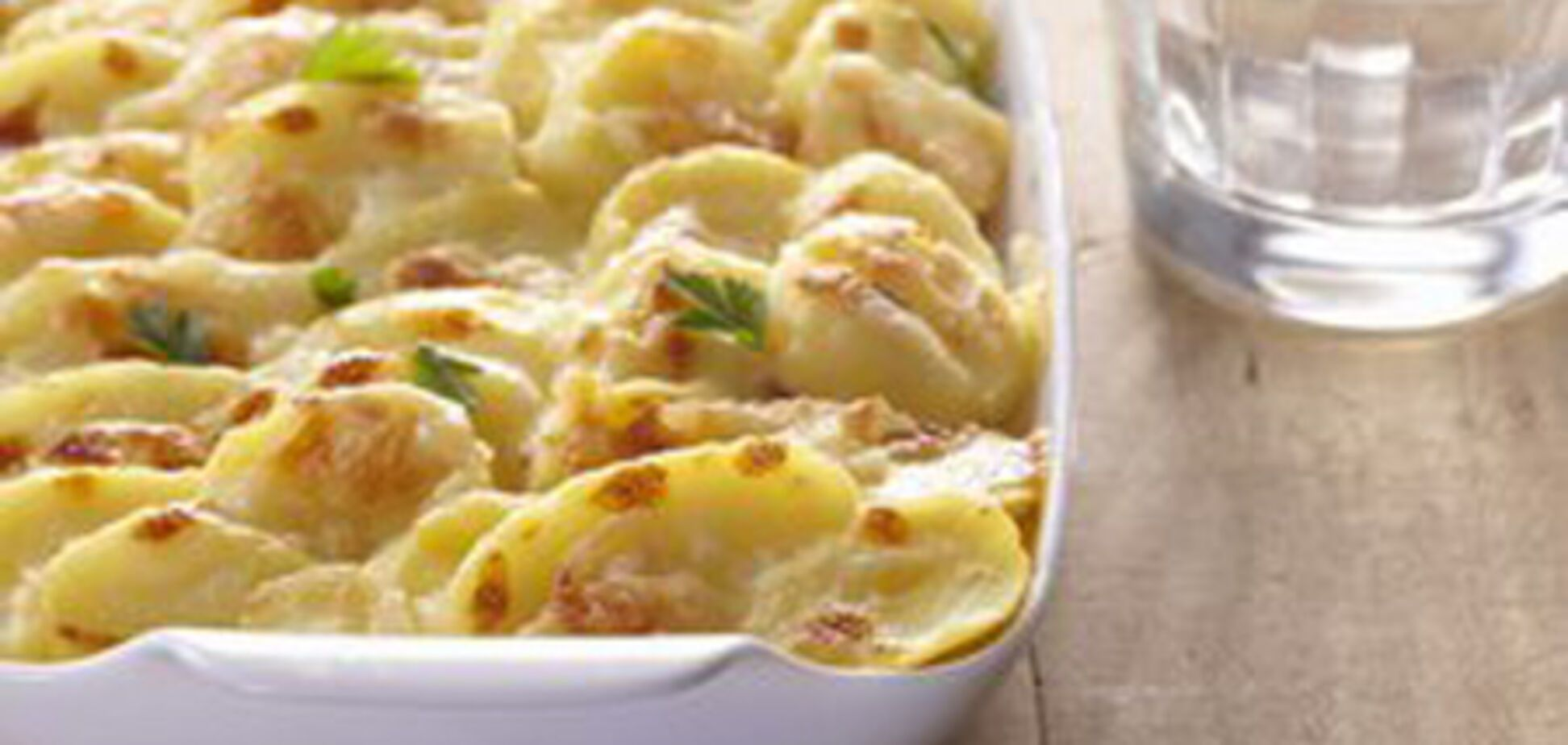 Картофель гратен с сыром