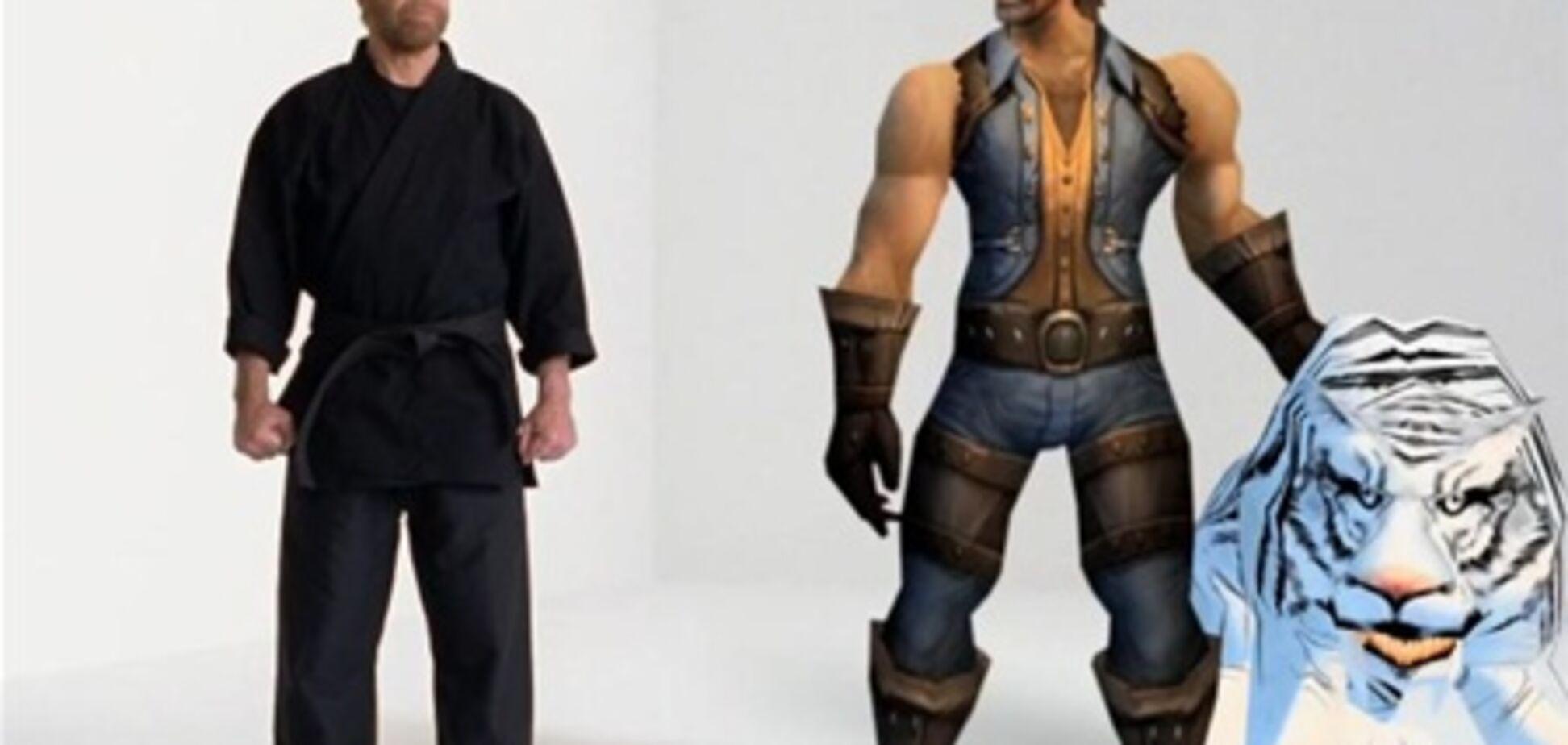 Чак Норрис стал героем игры World of Warcraft. Видео