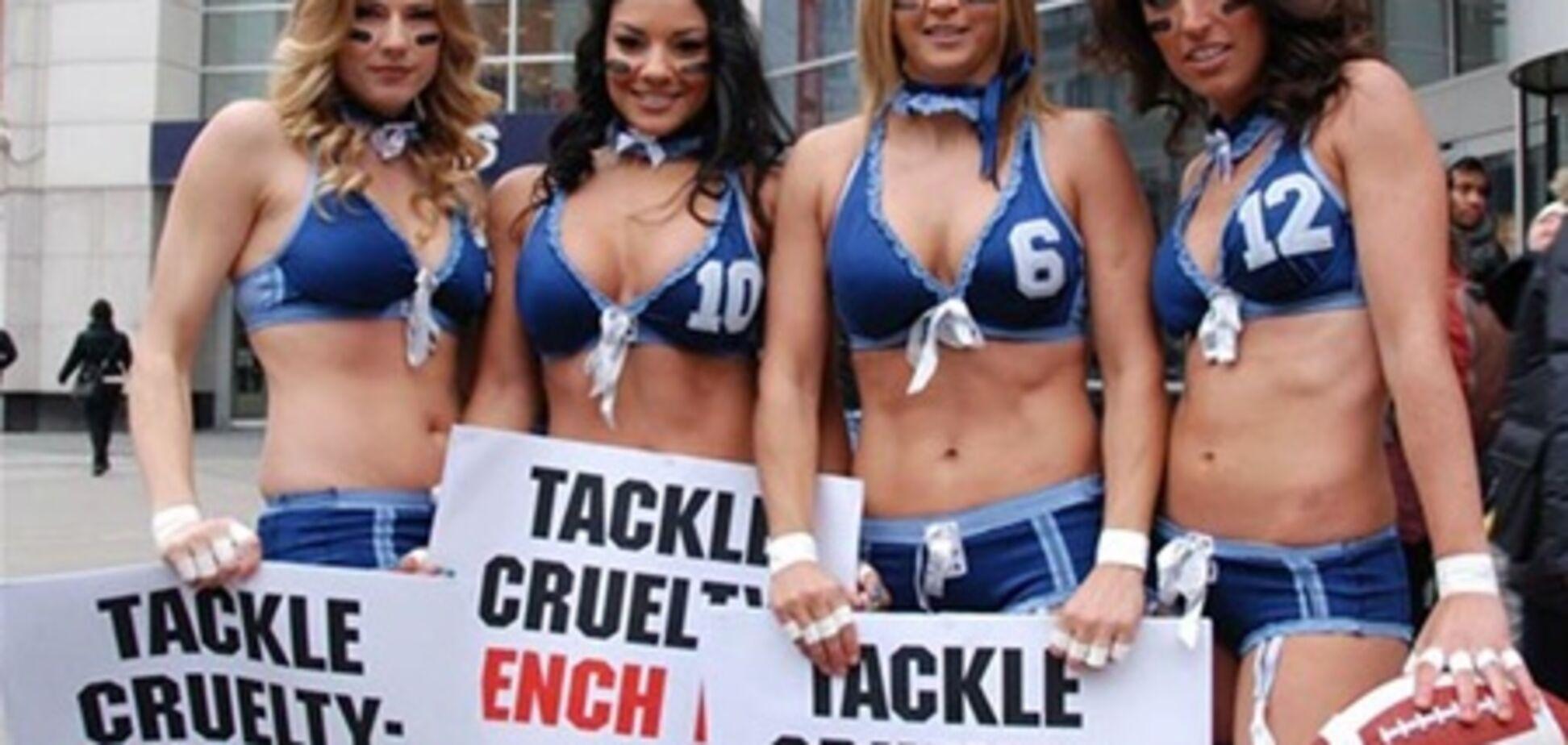 Футболистки разделись в поддержку животных. Фото