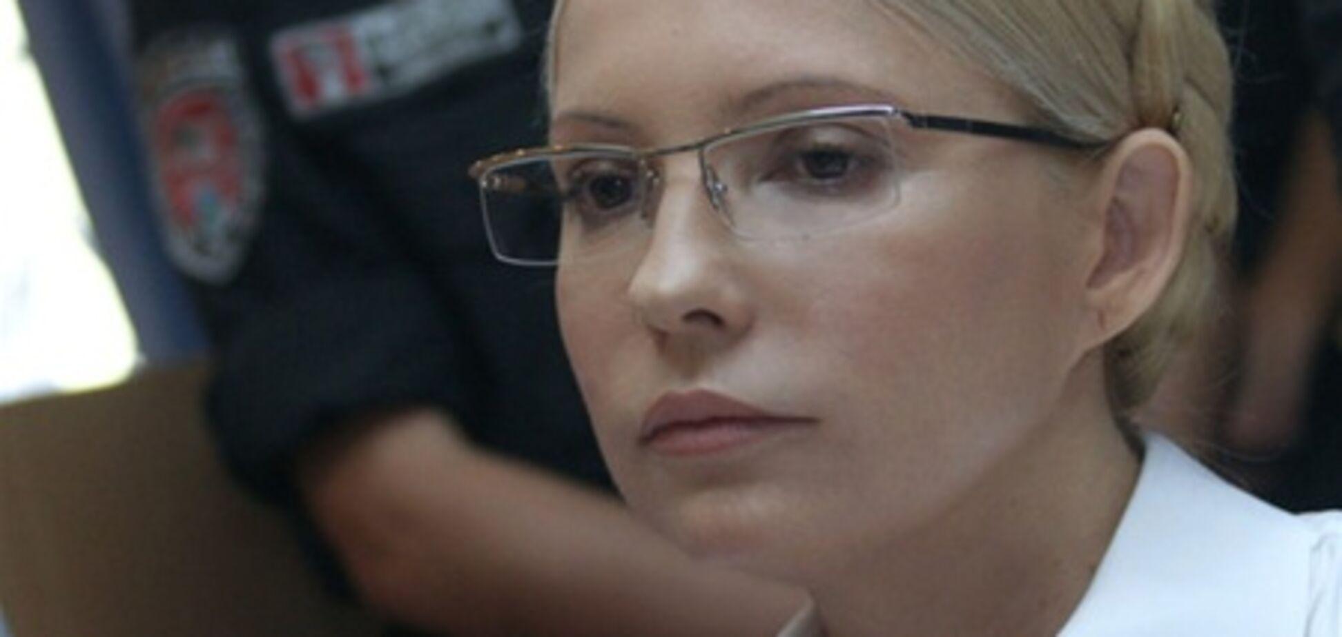 Тимошенко угрожают выгнать из лазарета в случае отказа от лечения
