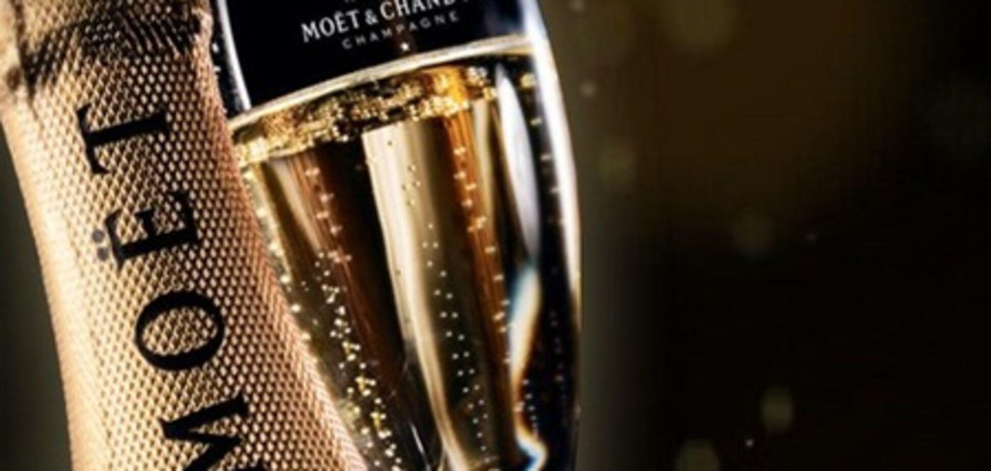 Новий рік з шампанським: чудова сімка варіантів