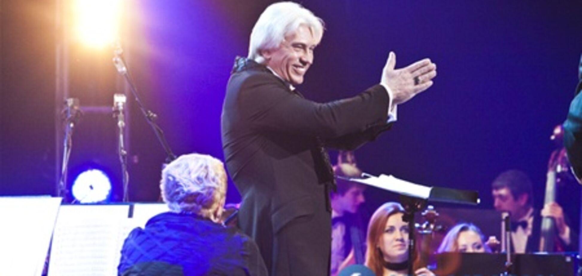 Хворостовский пел 'Очи черные' на концерте в Киеве. Фото. Видео