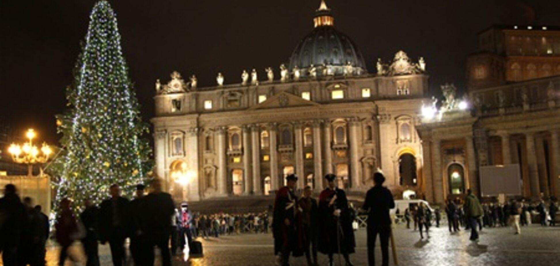 Рождество по-украински в Ватикане