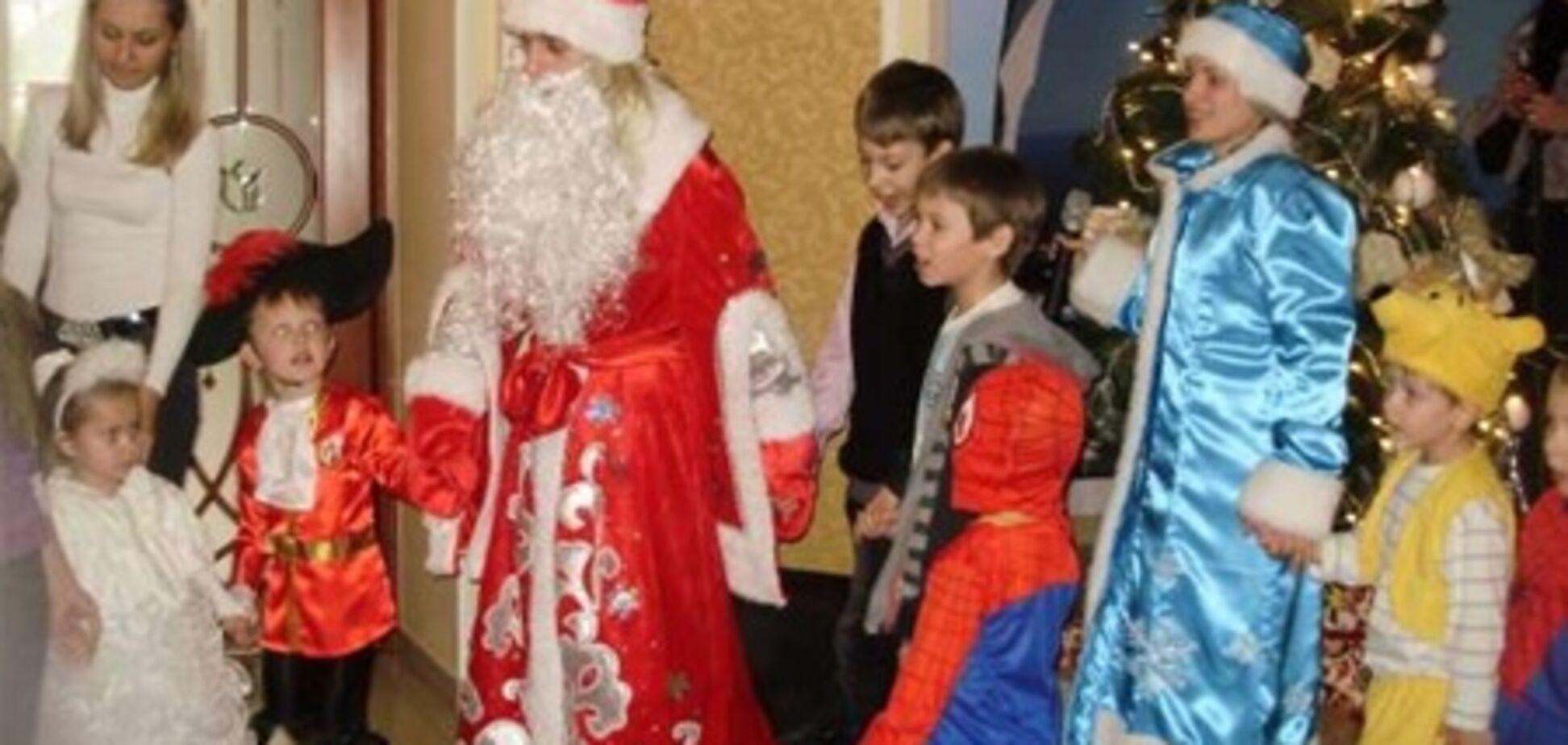 В Крыму на детском утреннике умер Дед Мороз