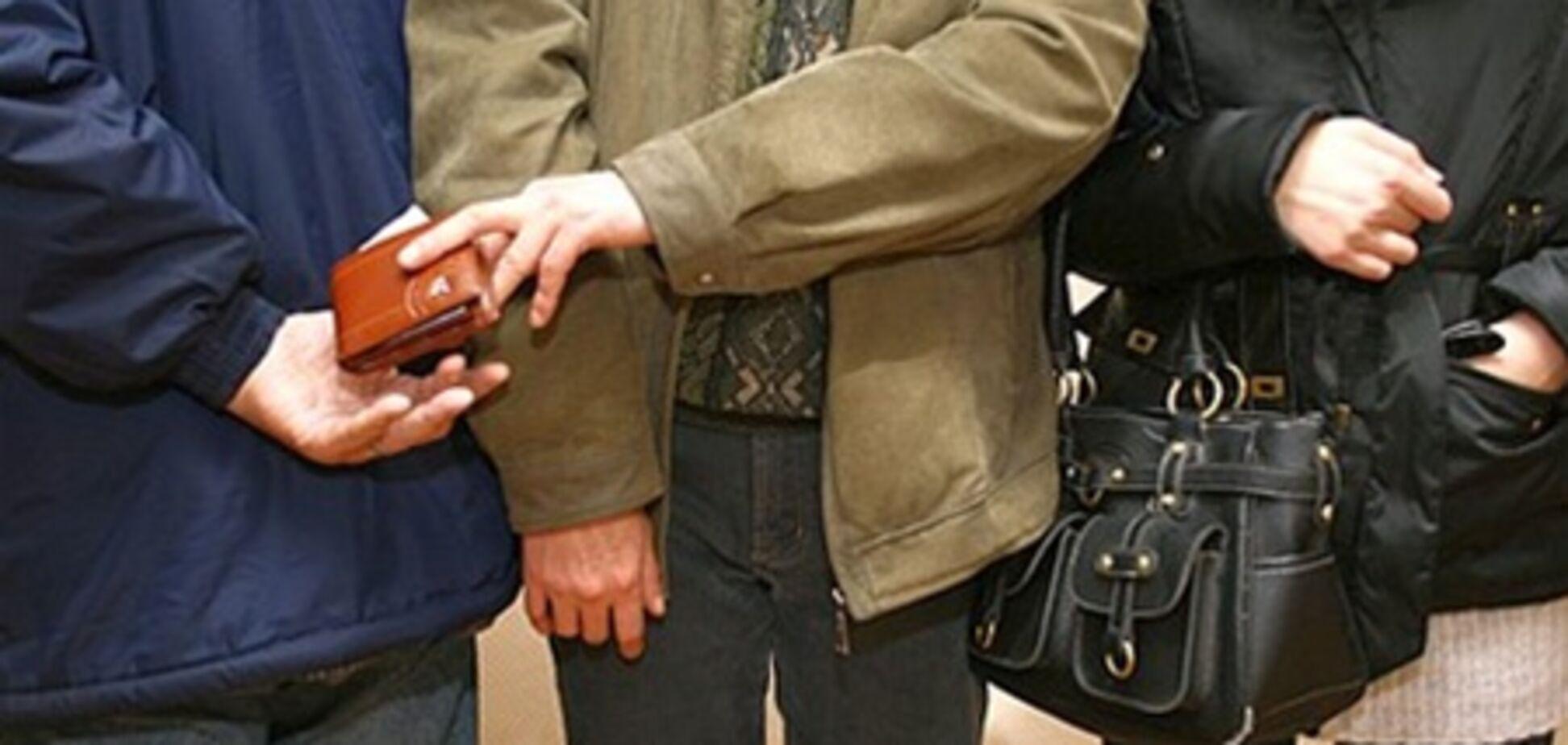 В Киеве на охоту вышли 'карманники'. Опасные маршруты