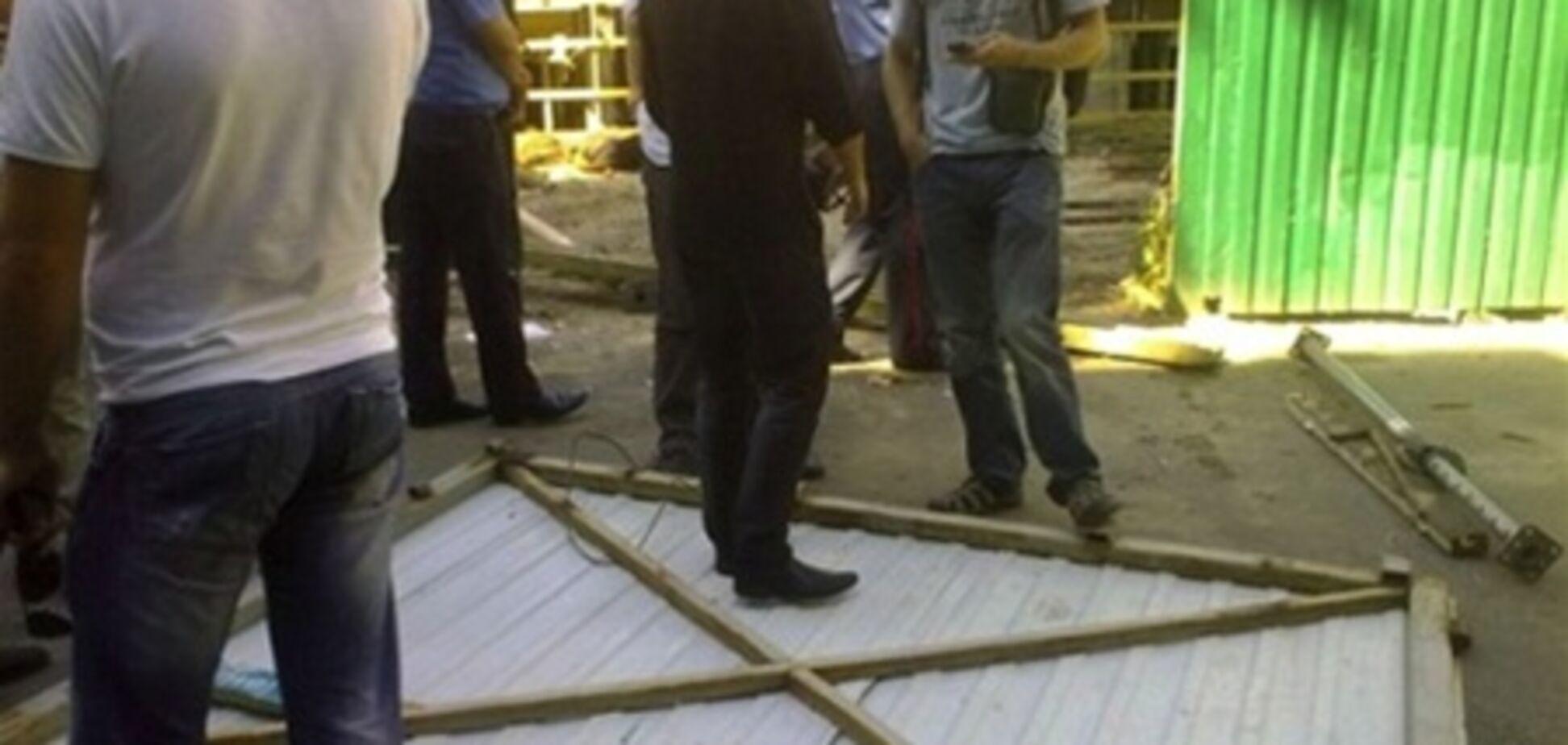 Строительный беспредел в центре Киева: подробности массовой драки