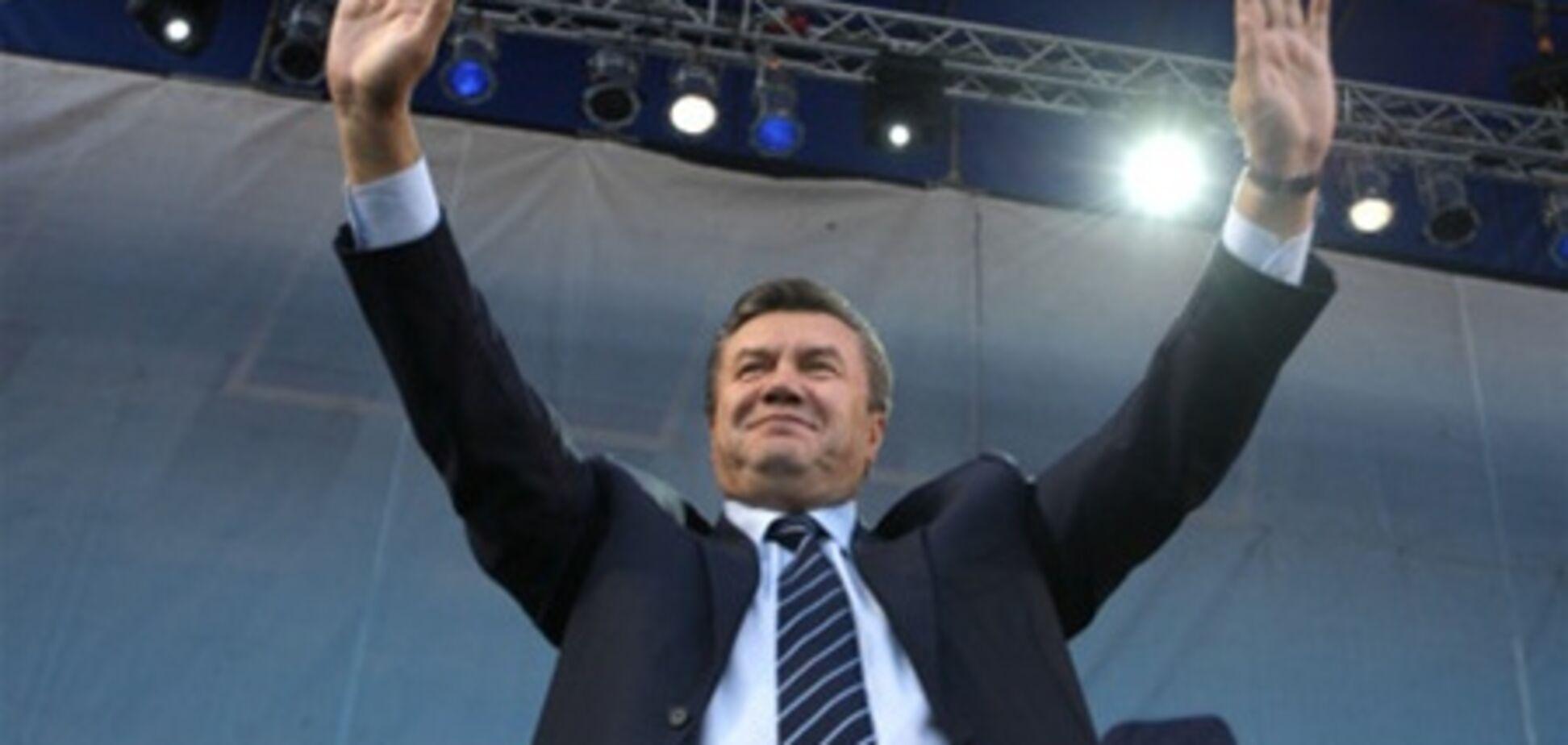 Янукович привітав євреїв