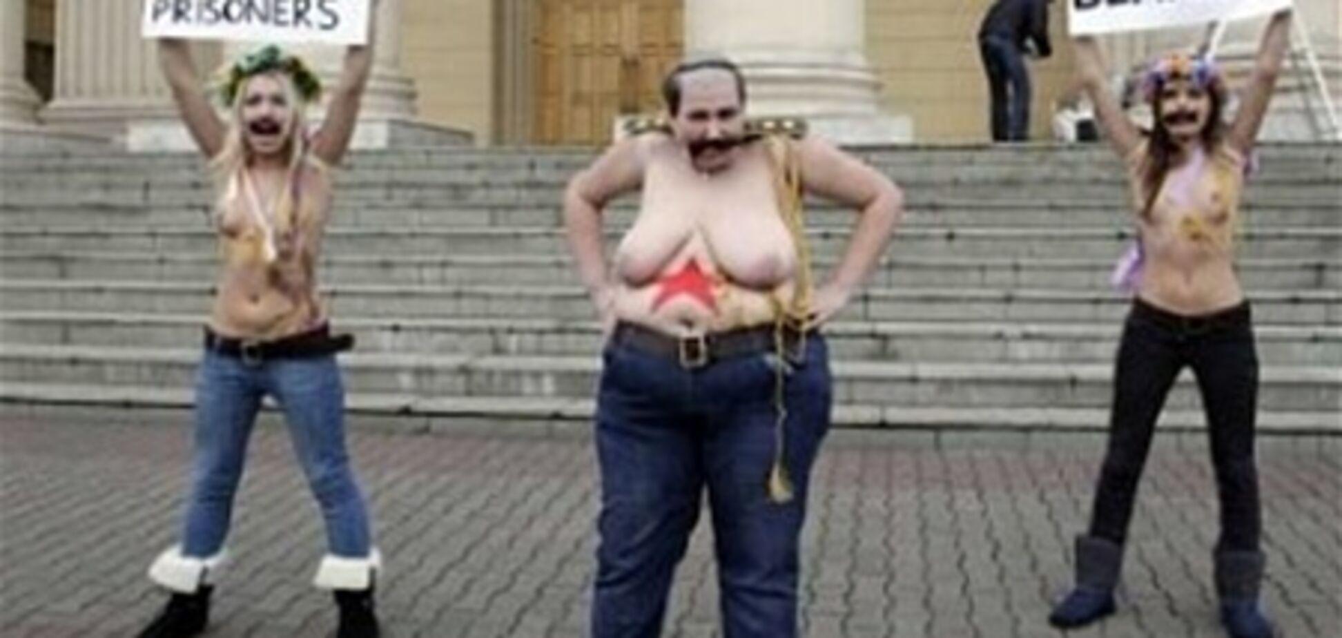 Девушки из FEMEN снова собираются в Беларусь