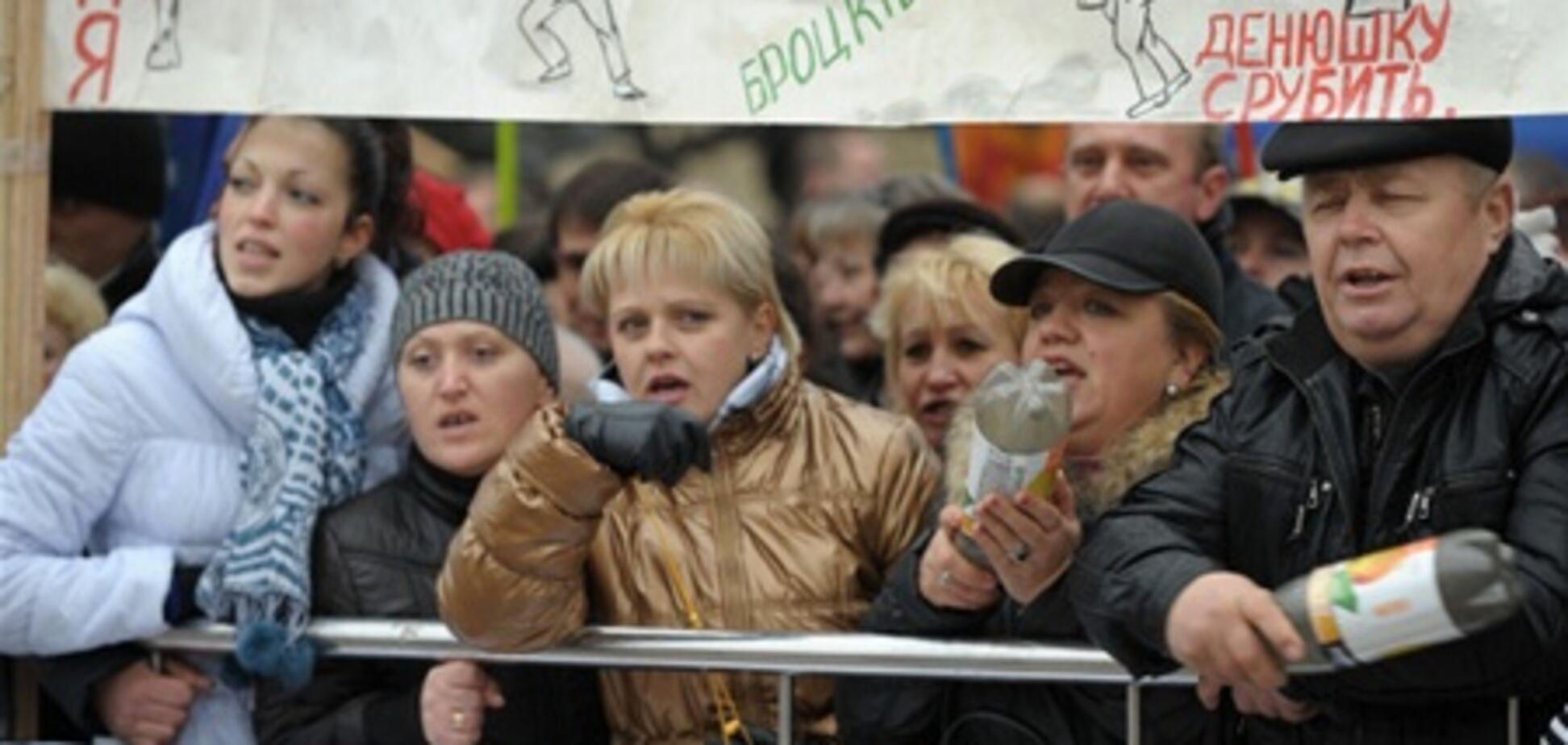 В 2011 году украинцы выходили на протесты 60 000 раз - МВД