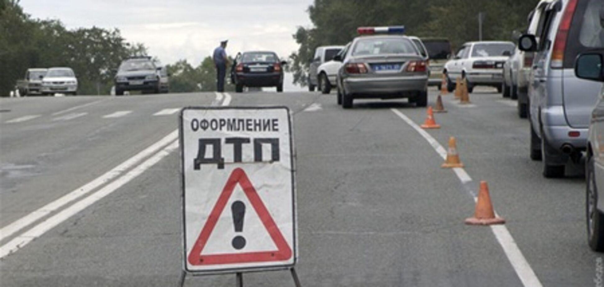 Восемь украинцев погибли в результате ДТП под Москвой